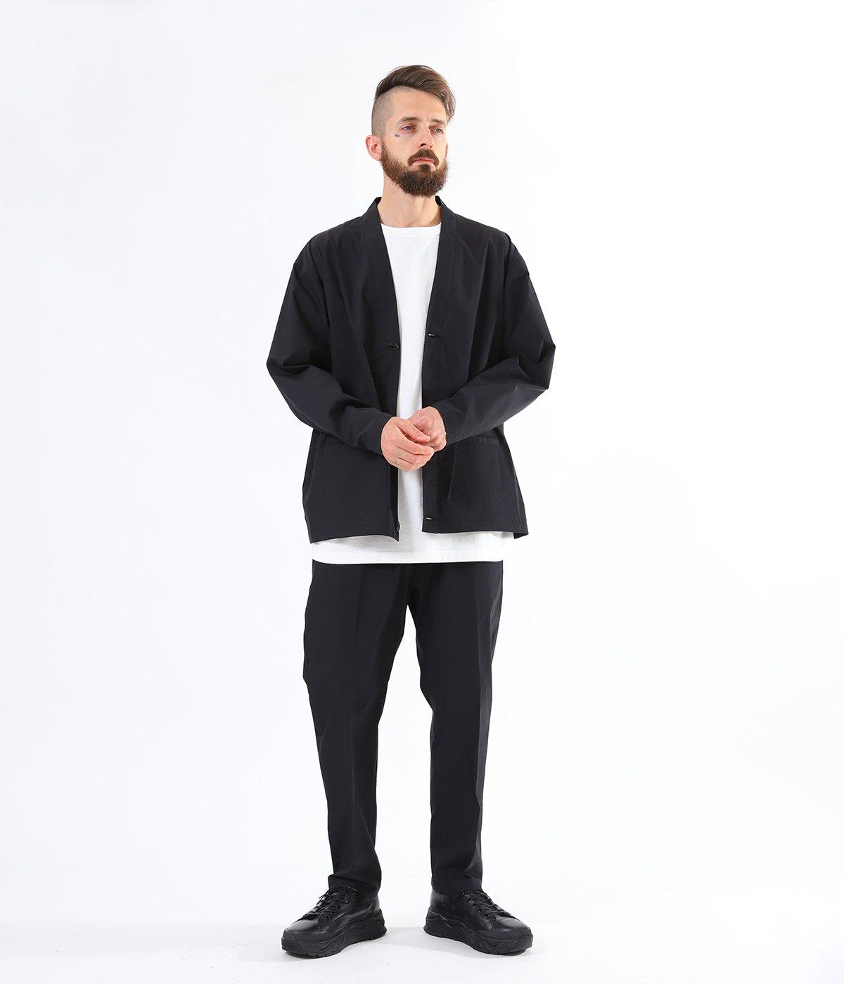 STRETCH WEATHER CLOTH SLIM EASY PANTS