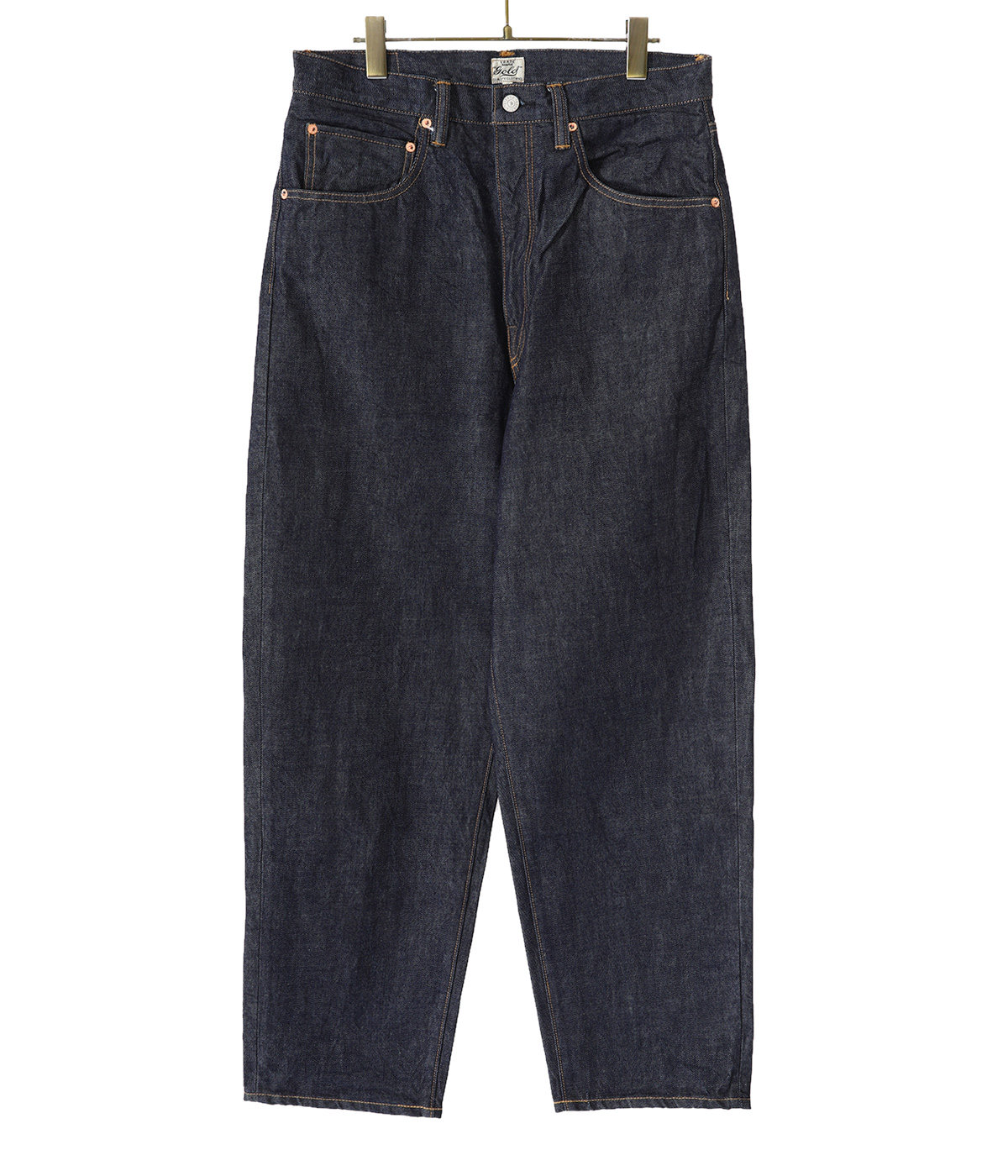 【予約】14oz. DENIM 5POCKET WIDE PANTS