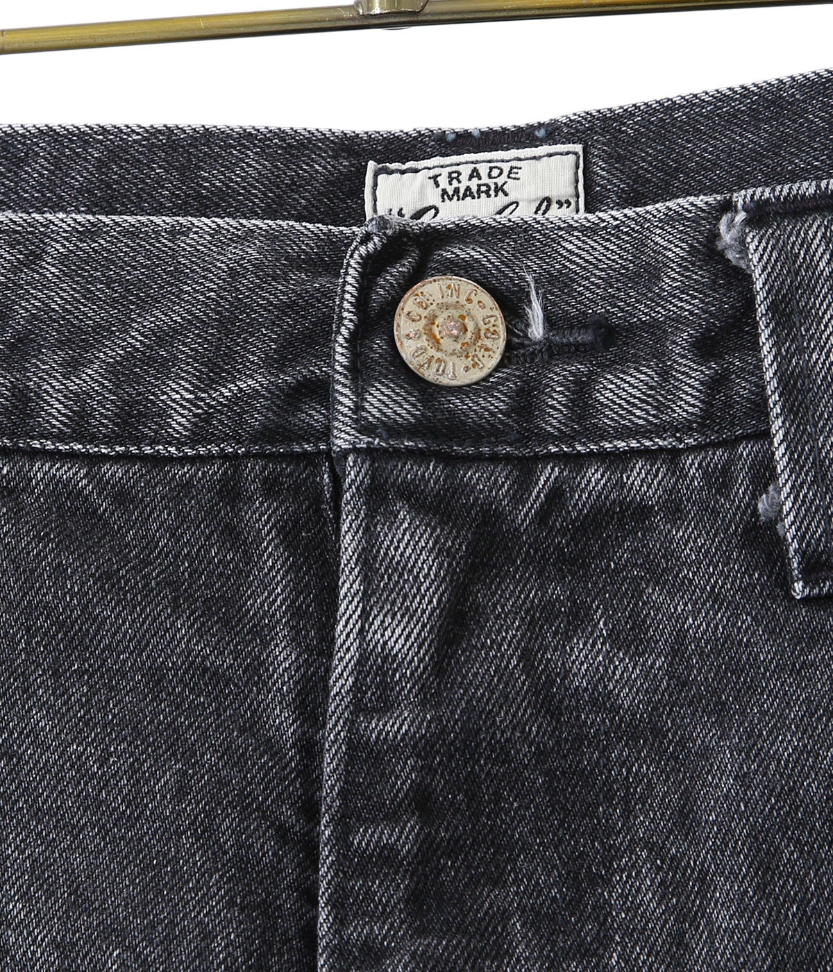 【予約】14oz. DENIM 5POCKET WIDE PANTS AGED MODEL