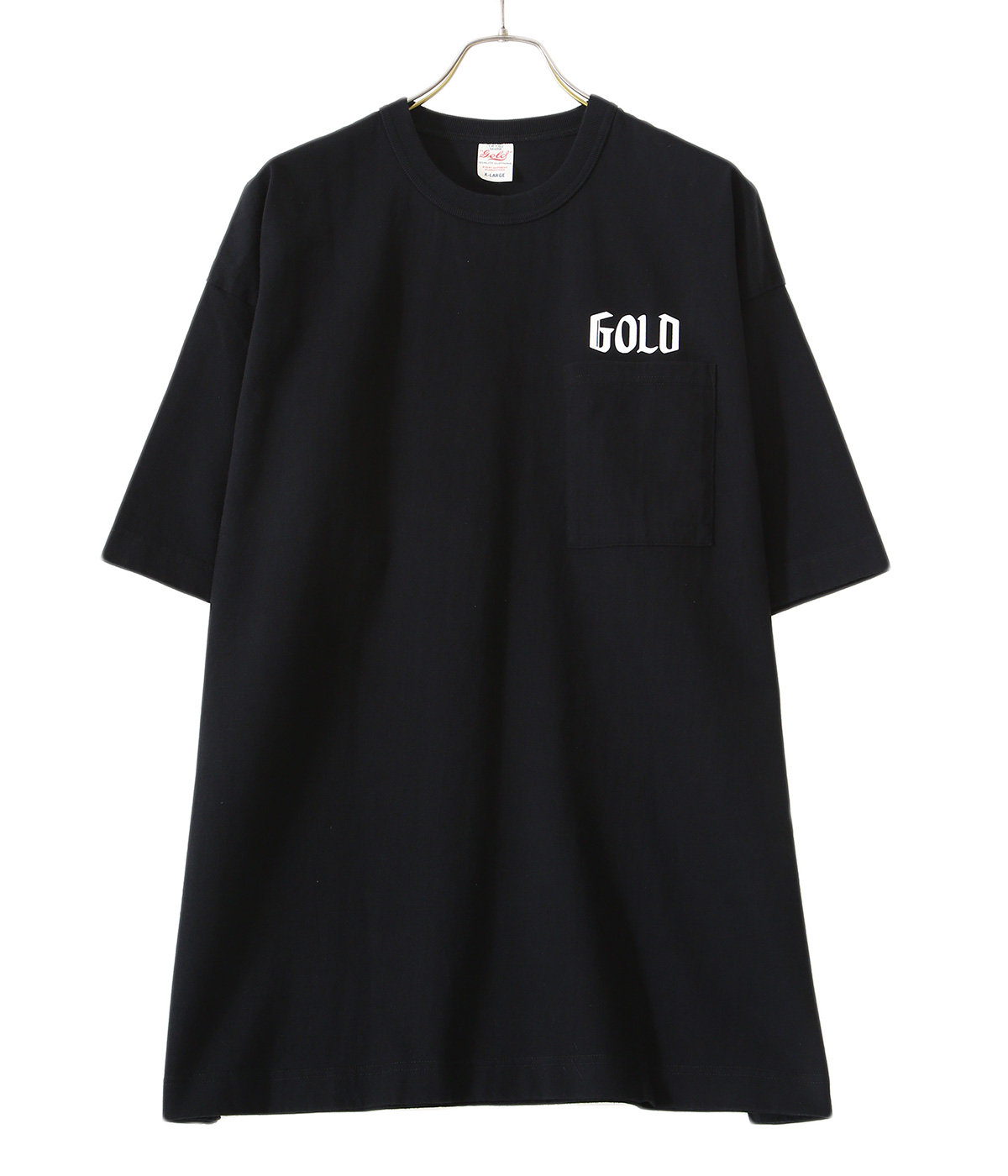 【ONLY ARK】別注14/- HEAVY COTTON S/S WIDE T-SHIRT -GOLD PRINT-