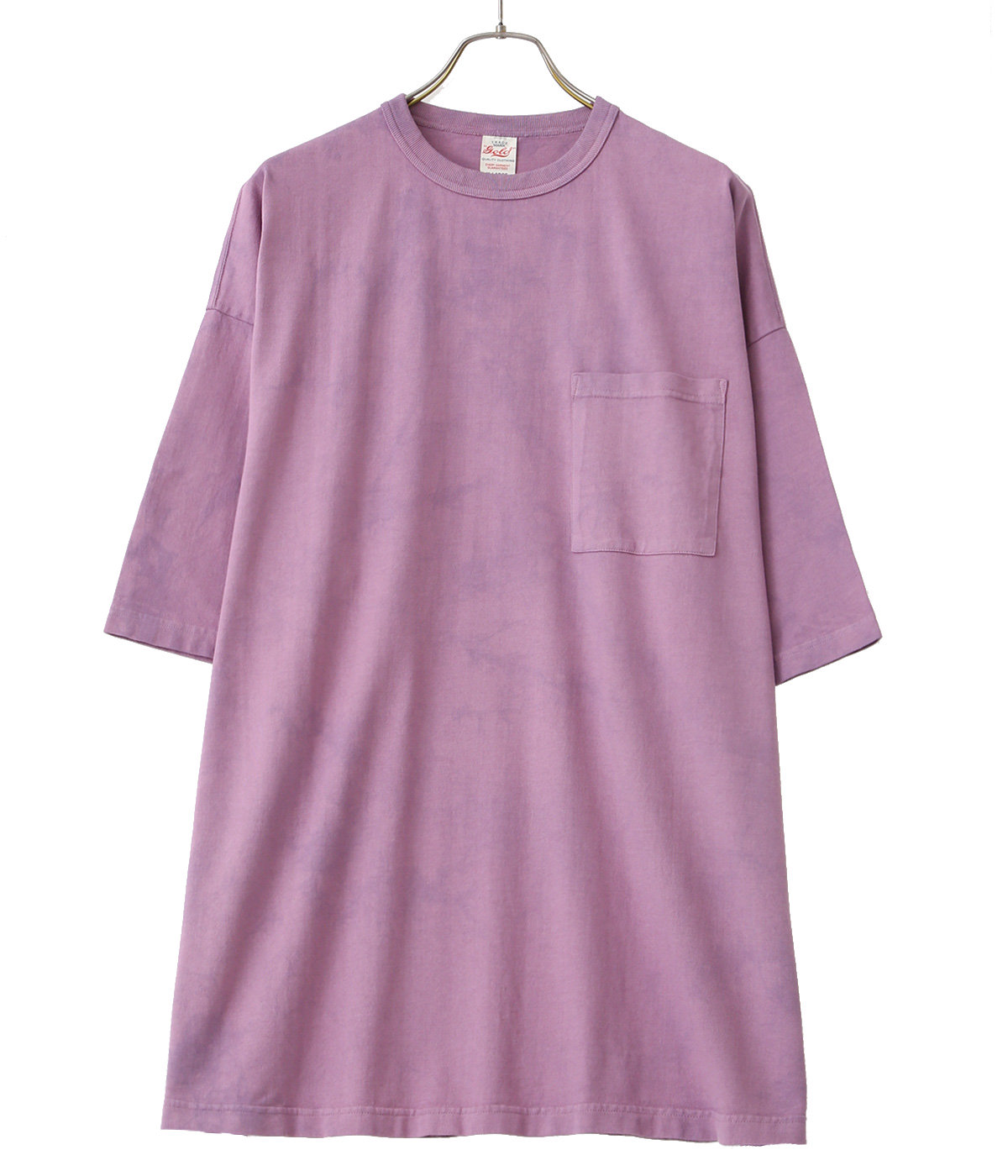 【予約】SUVIN COTTON OVER SIZE TEE TIE-DYED