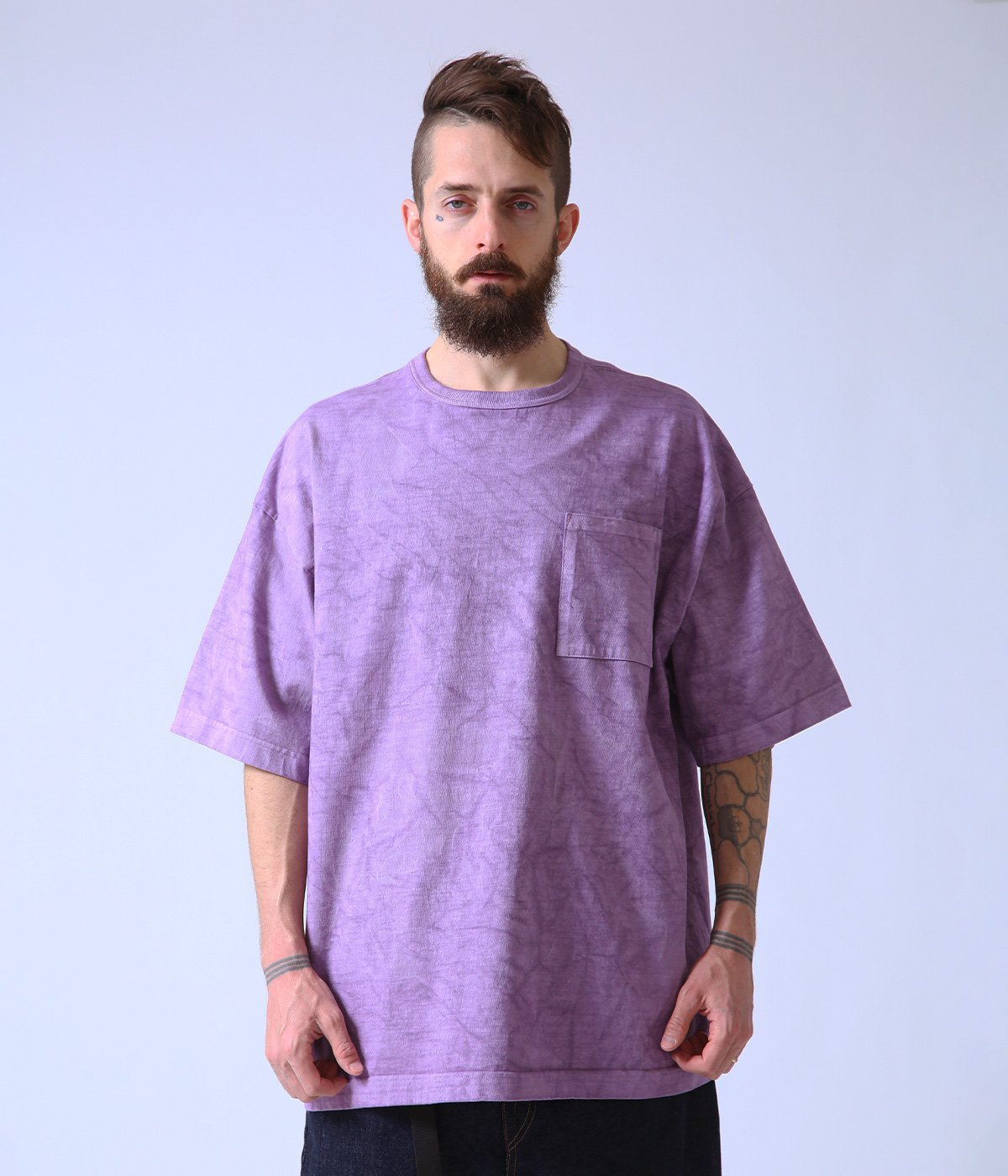 【予約】HEAVY COTTON BOX TEE PIGMENT DYED