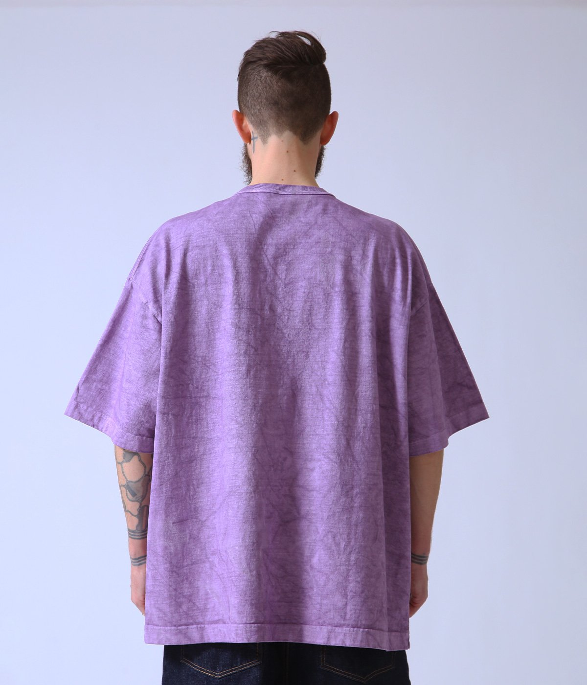 HEAVY COTTON BOX TEE PIGMENT DYED