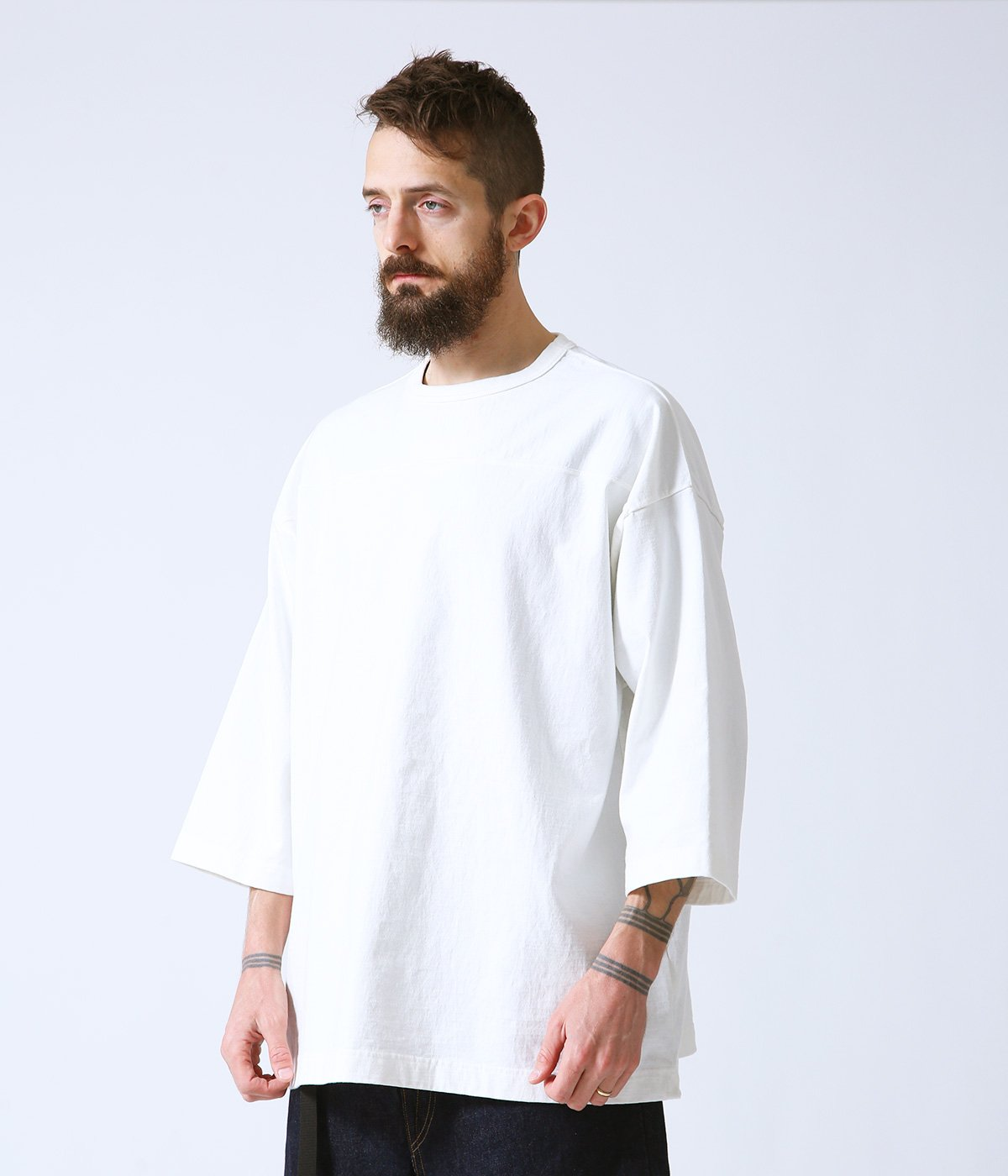HEAVY COTTON BOX FOOTBALL TEE