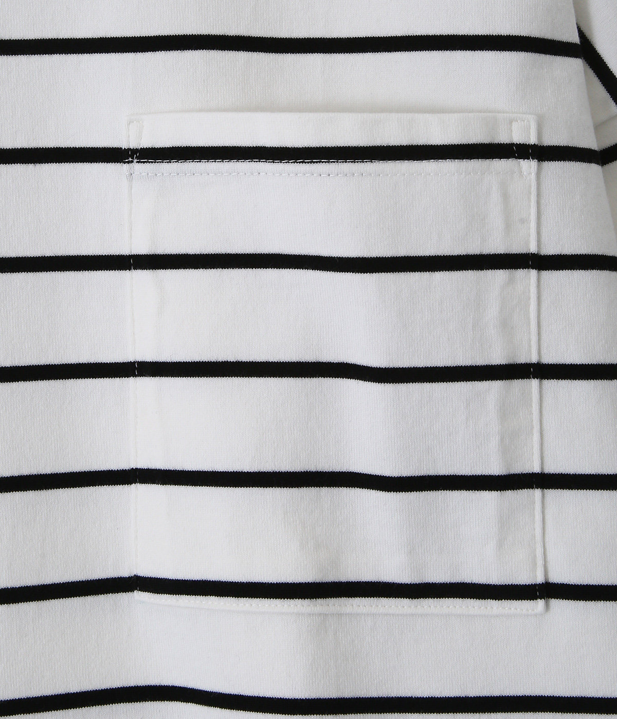 【予約】HEAVY COTTON BORDER BOX TEE