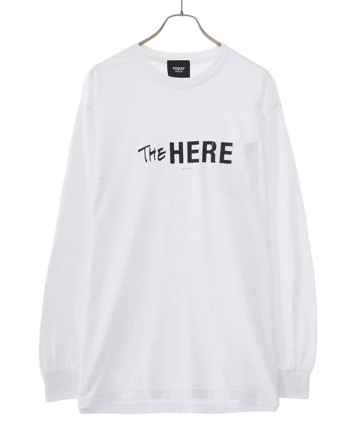 【ONLY ARK】別注 THE HERE LS Pocket Tee