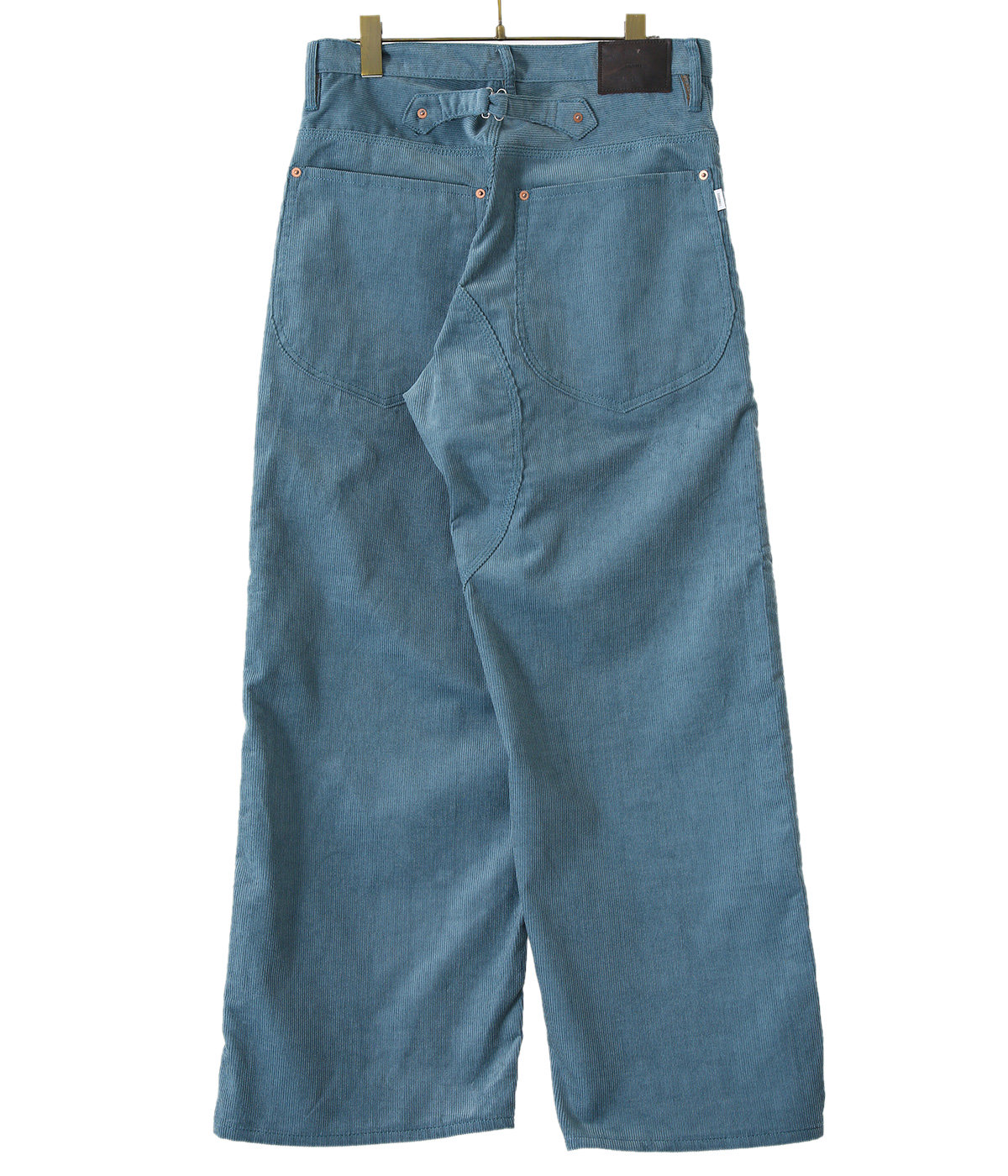 【予約】CORDUROY DOUBLE KNEE DENIM PANTS