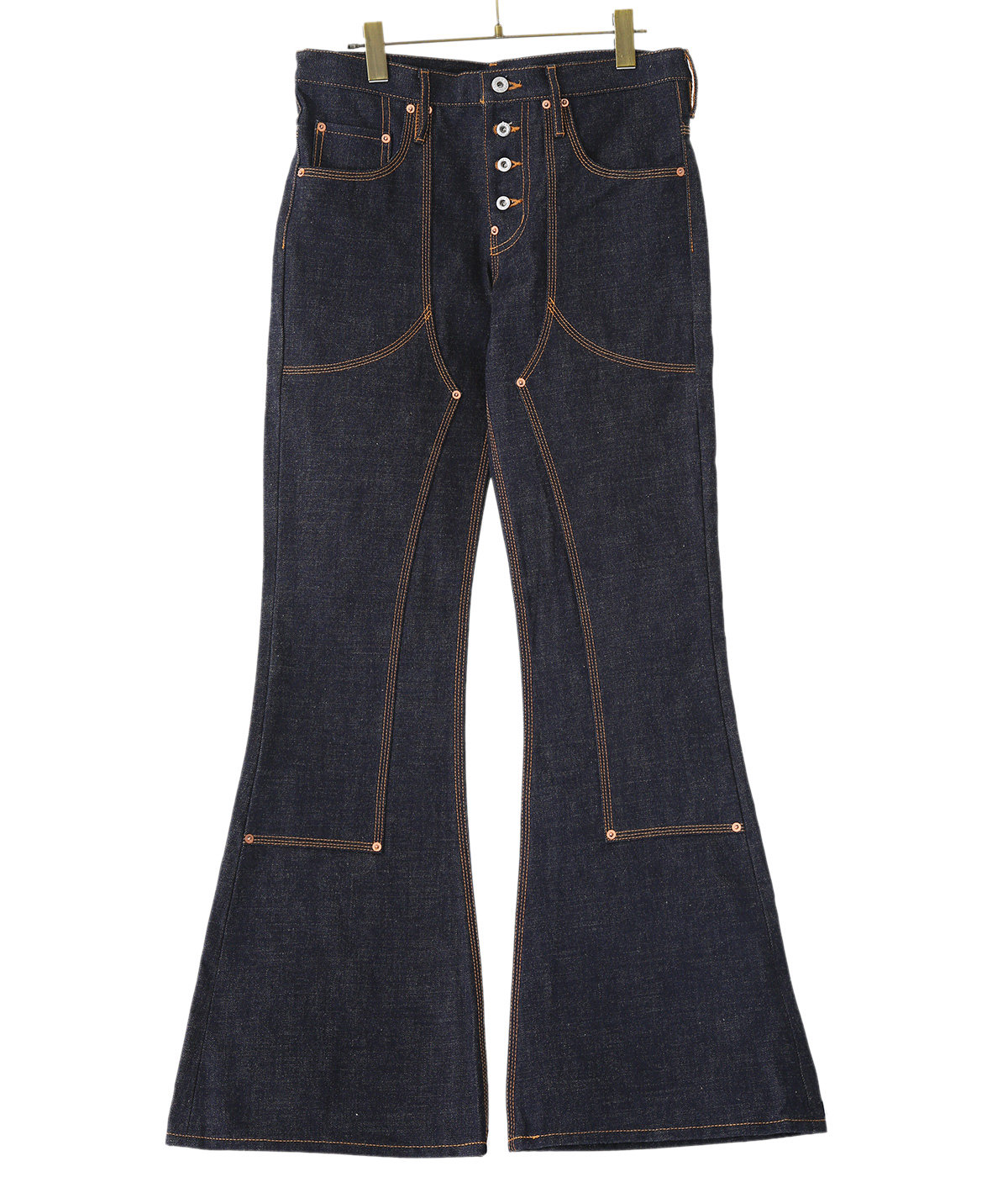 【予約】BELL BOTTOM DENIM PANTS