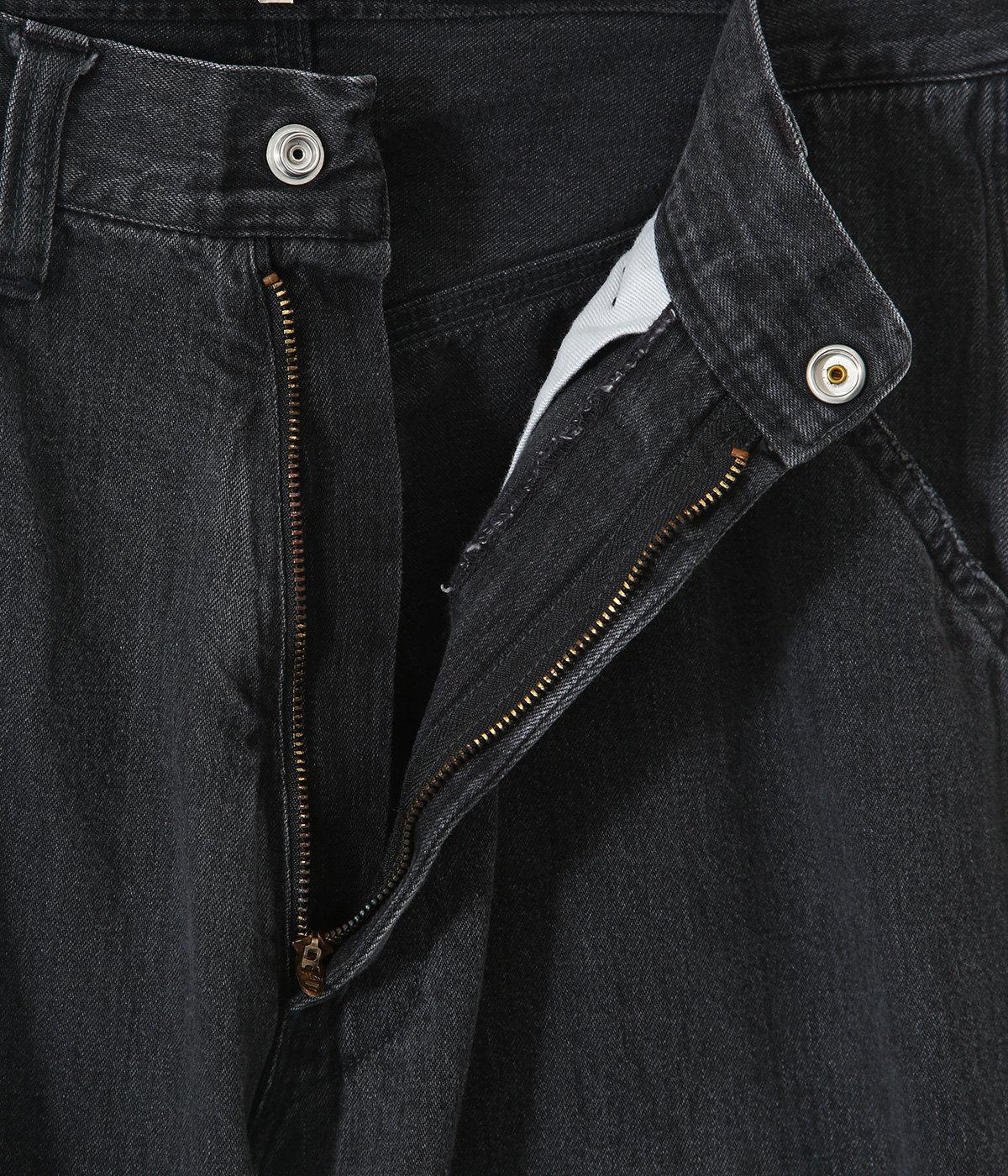 10.5oz JELT DENIM PAINTER PANTS AGING MODEL HARD WASH