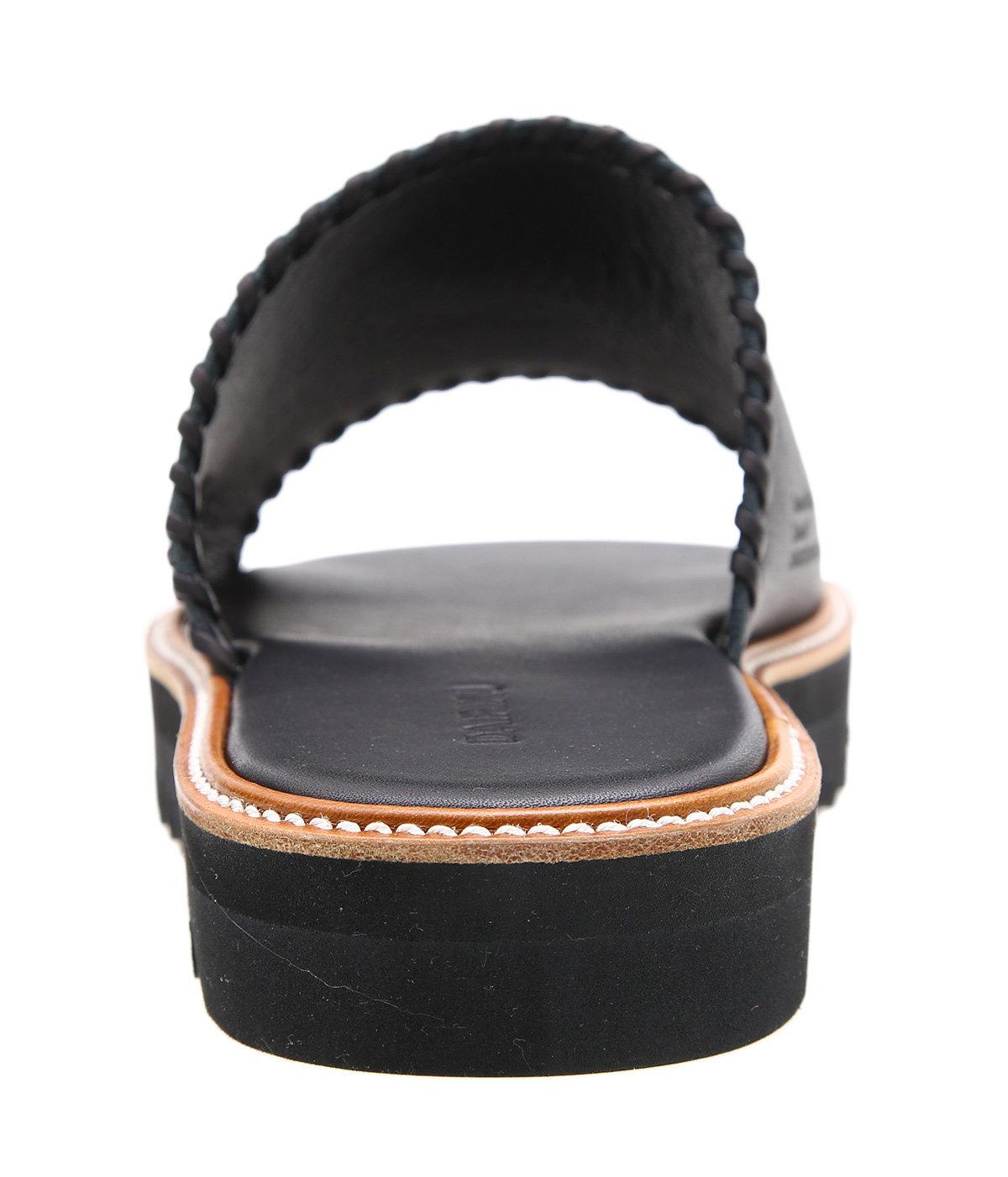 """Wyatt"" Hand Stitch Leather Sandal"
