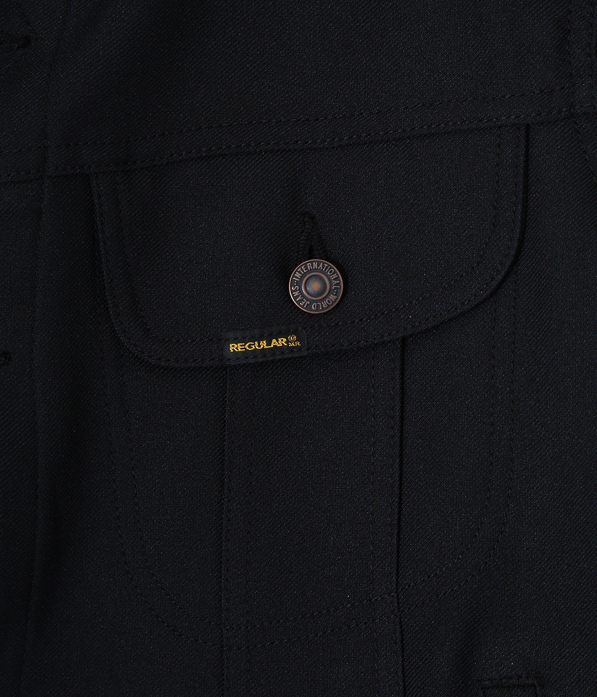 """Regular"" Polyester Jacket"