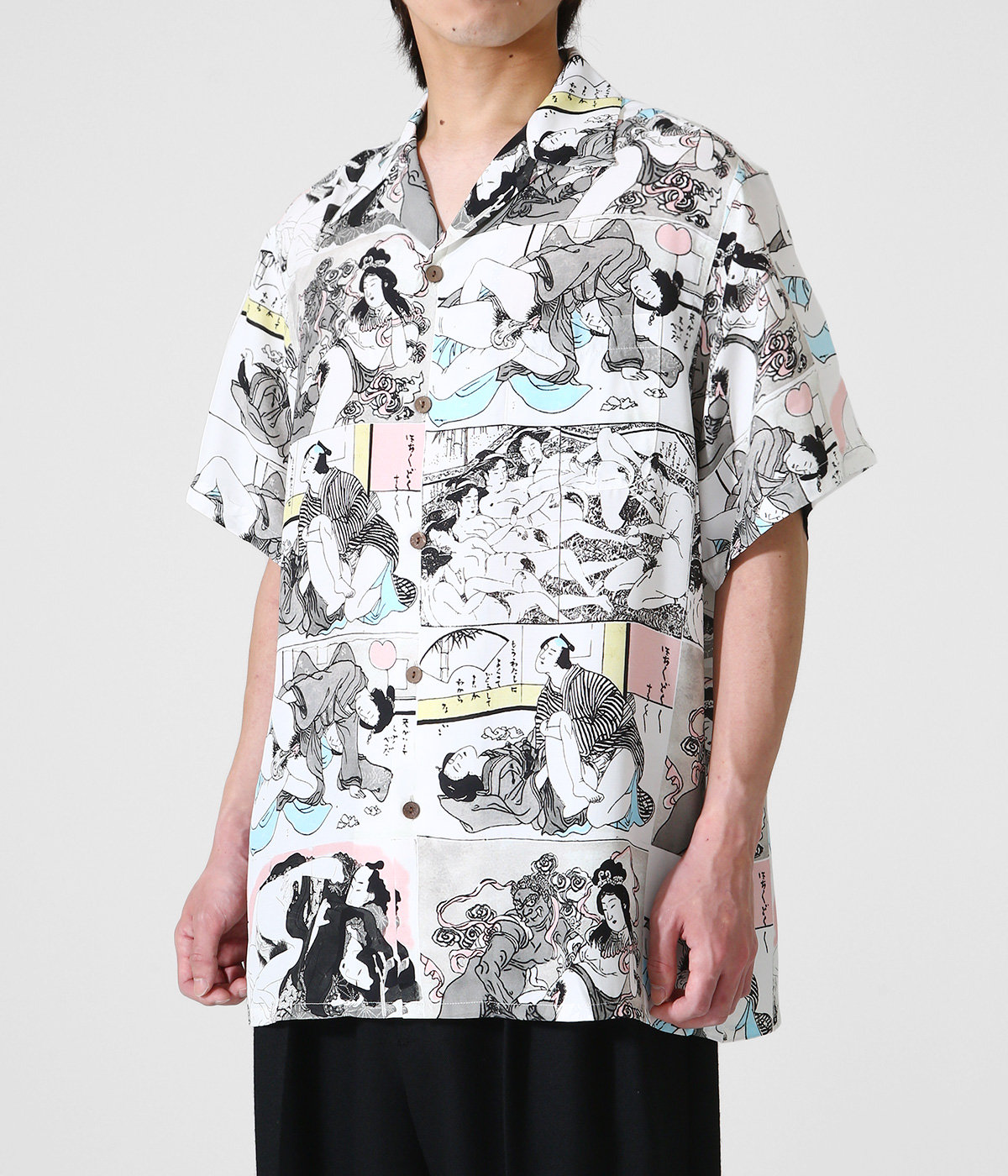 HAWAIIAN SHIRT S/S ( TYPE-3 )