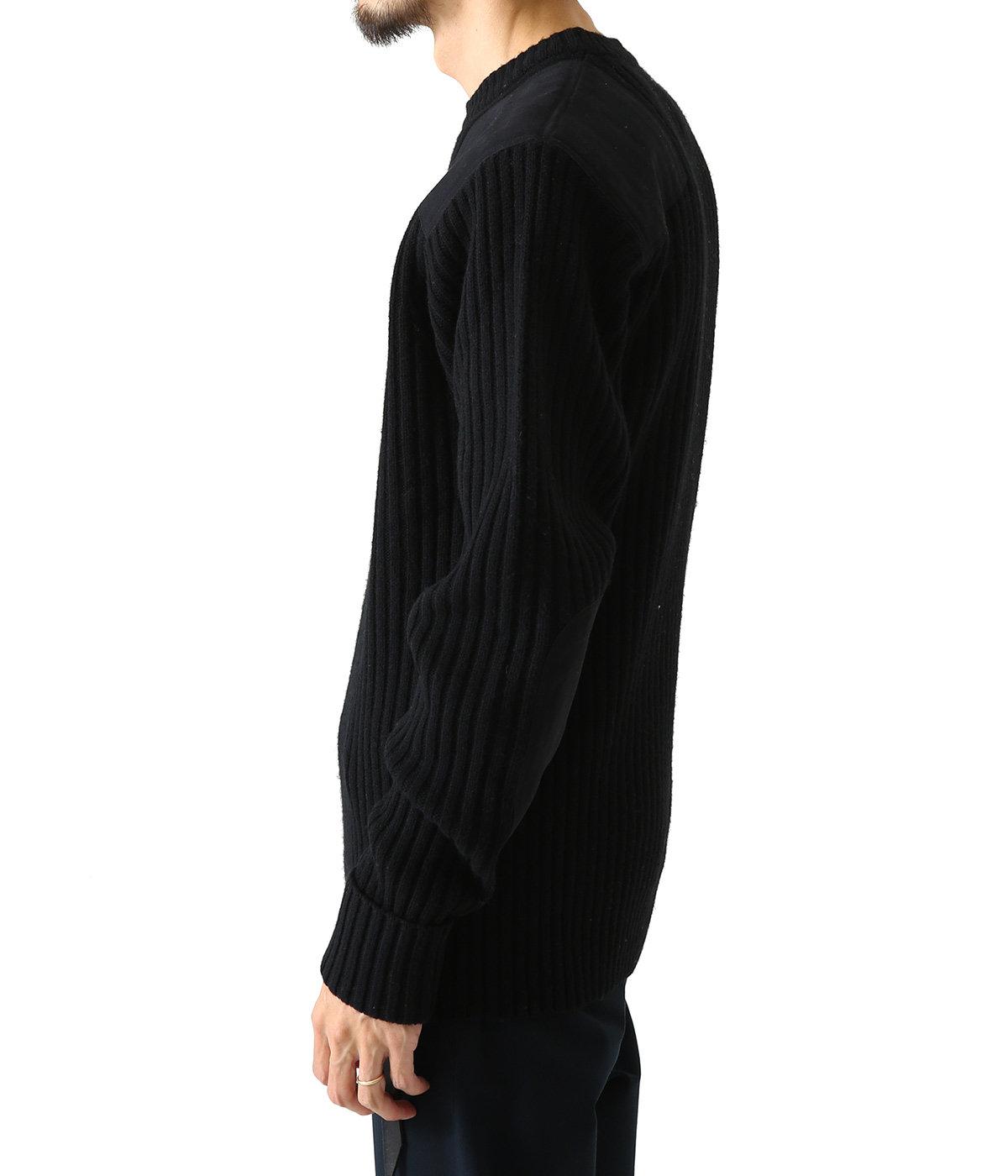 コマンドクルーネックセーター