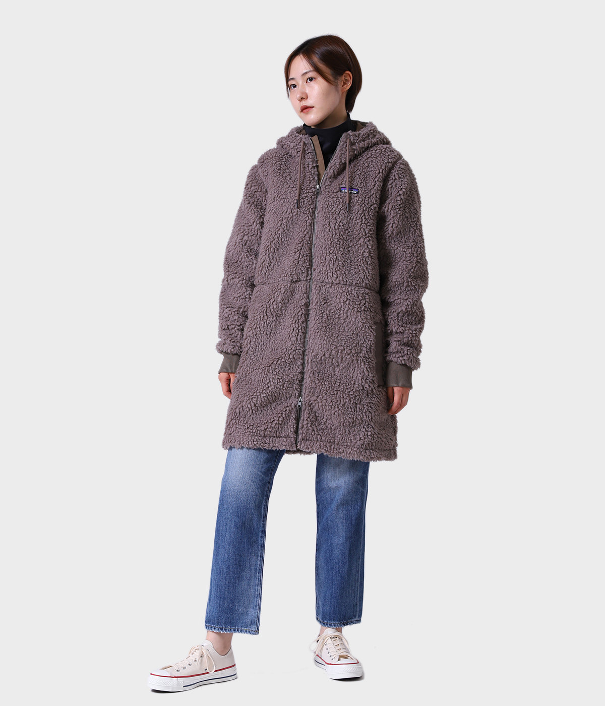 model(169cm) 着用サイズ:L