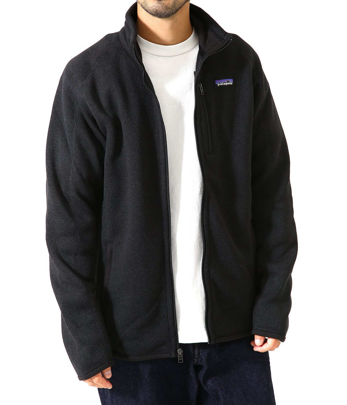 M's Better Sweater Jkt -BLK-