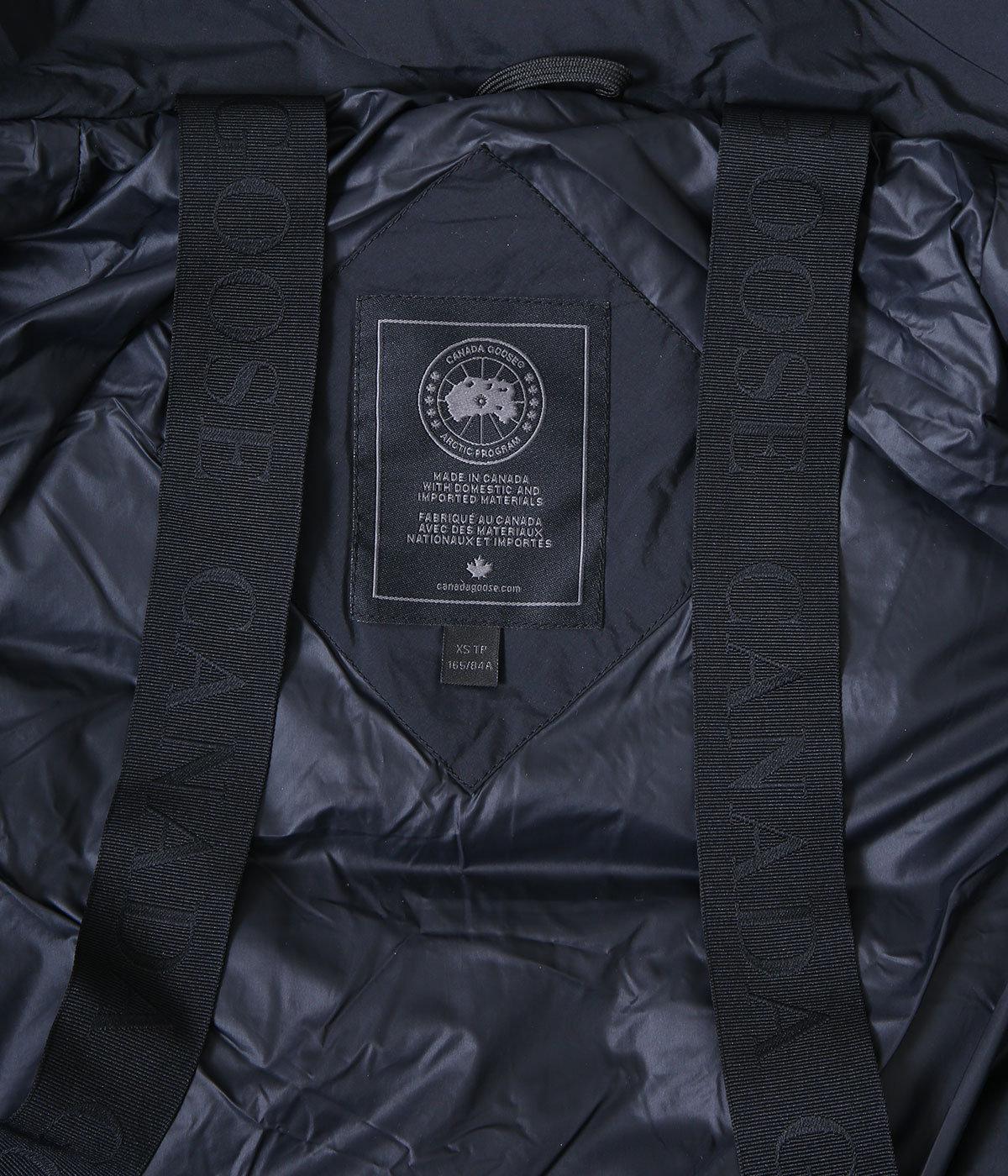 【レディース】<BYWARD PARKA(バイワード パーカー)>-BLACK LABEL/BLACK DISC-