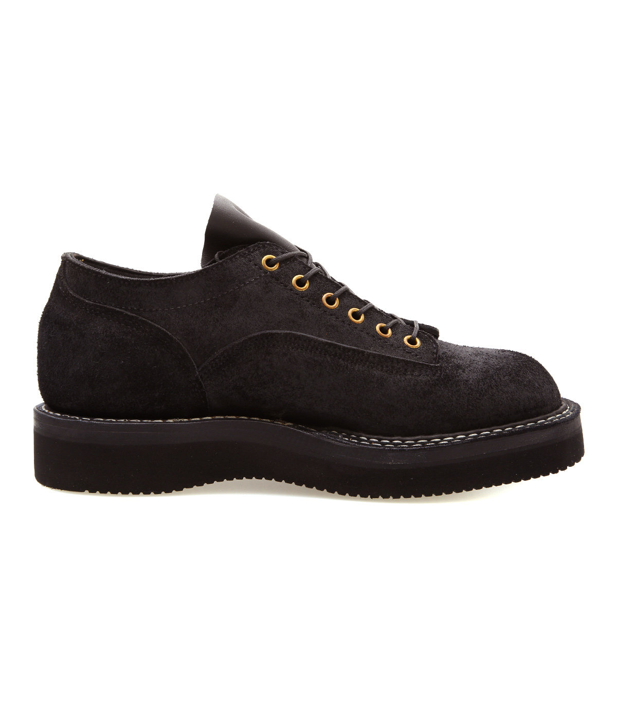 NORTHWEST OXFORD -ROUGHOUT BLACK-