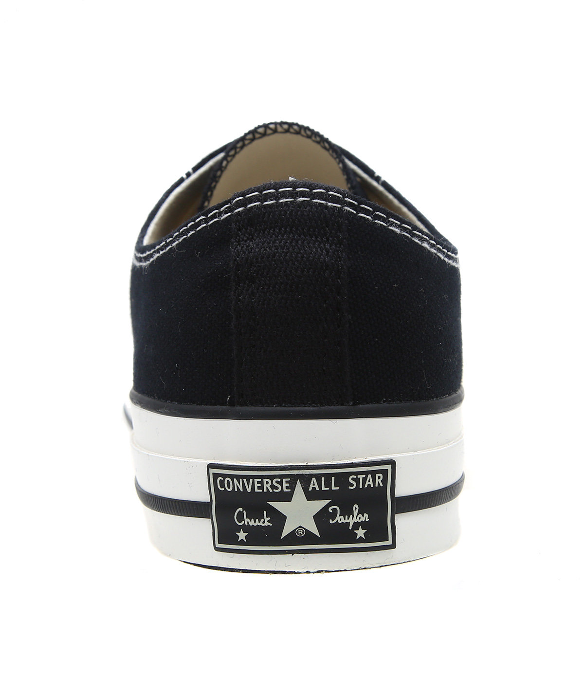 CHUCK TAYLOR CANVAS OX -BLACK-