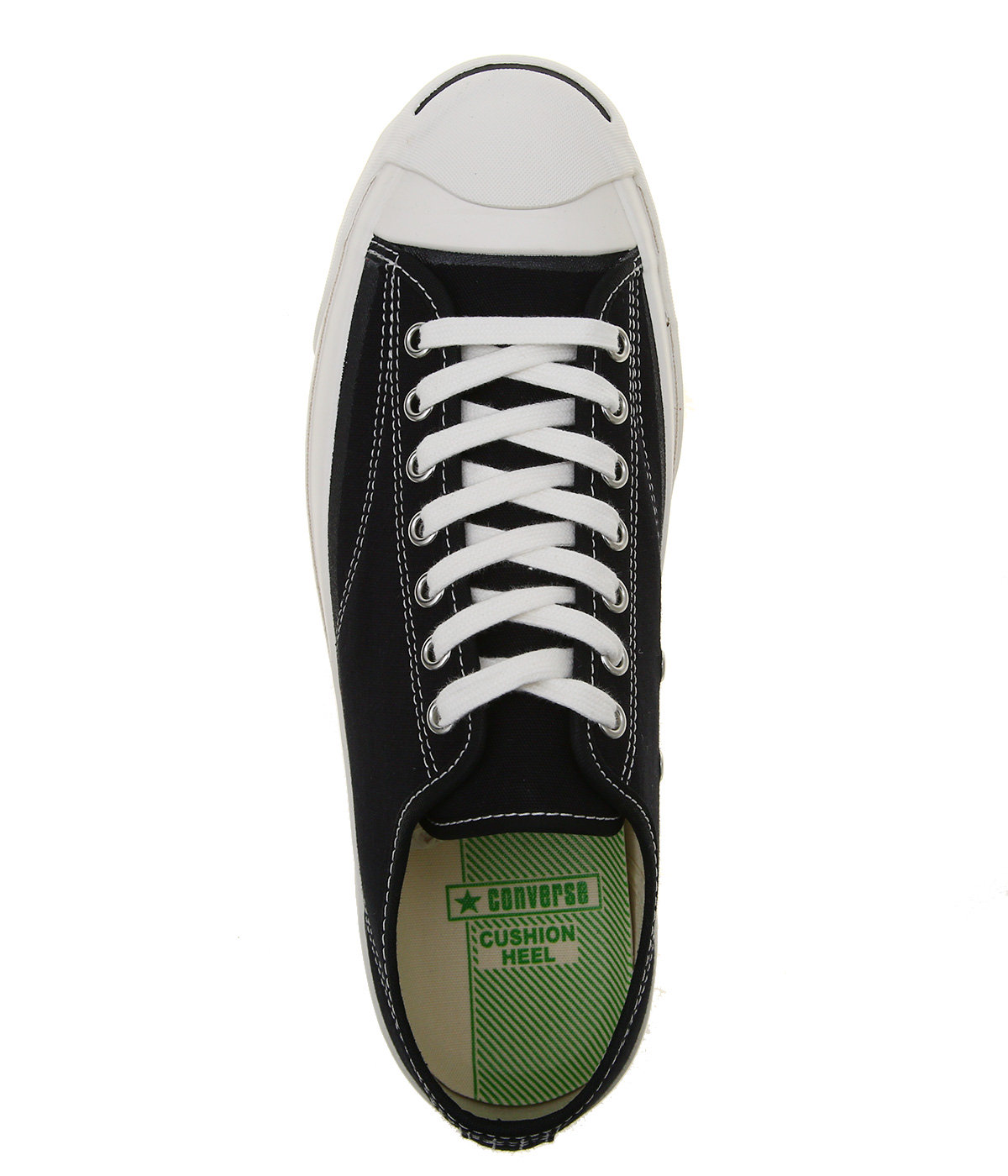 JACK PURCELL CANVAS - BLACK -