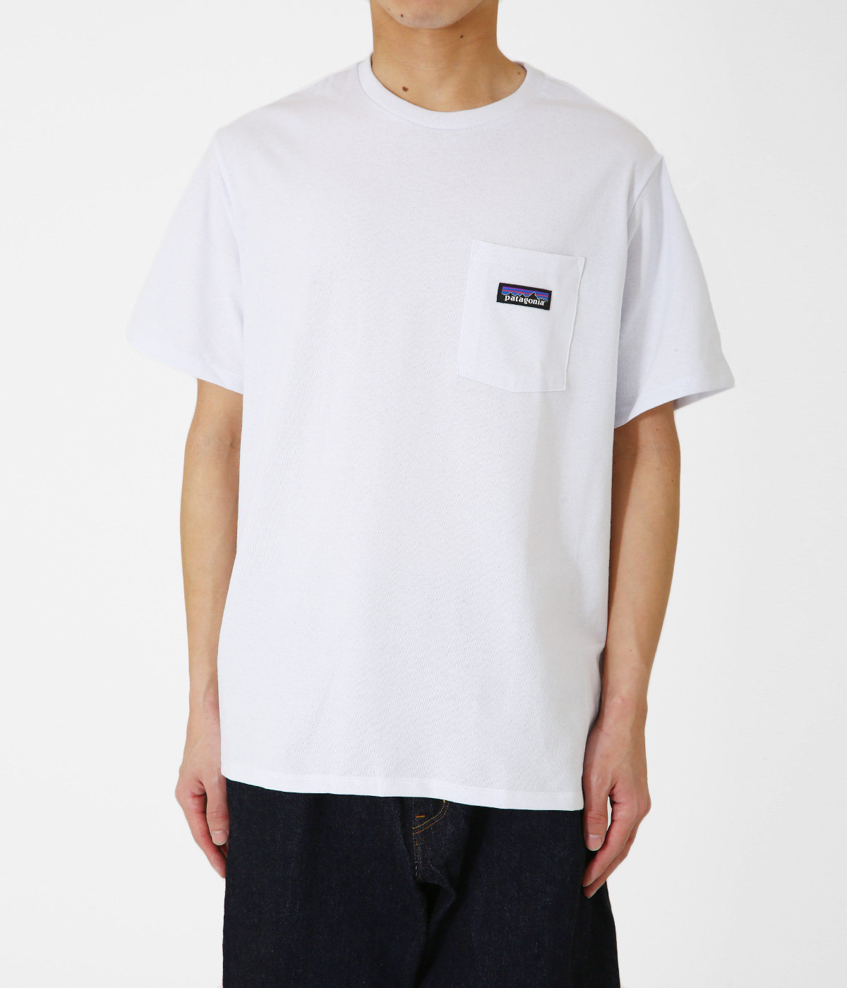 M's P-6 Label Pocket Responsibili Tee -WHT-