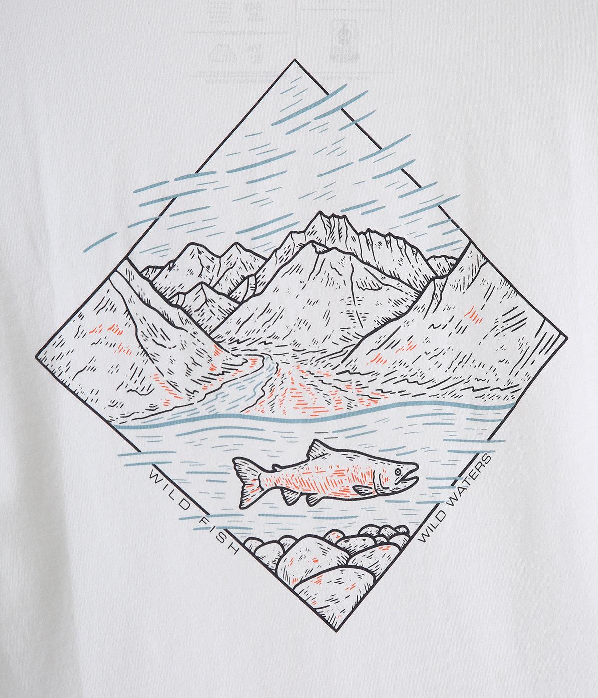 M's Wild Home Waters Organic T-Shirts -WHRI-