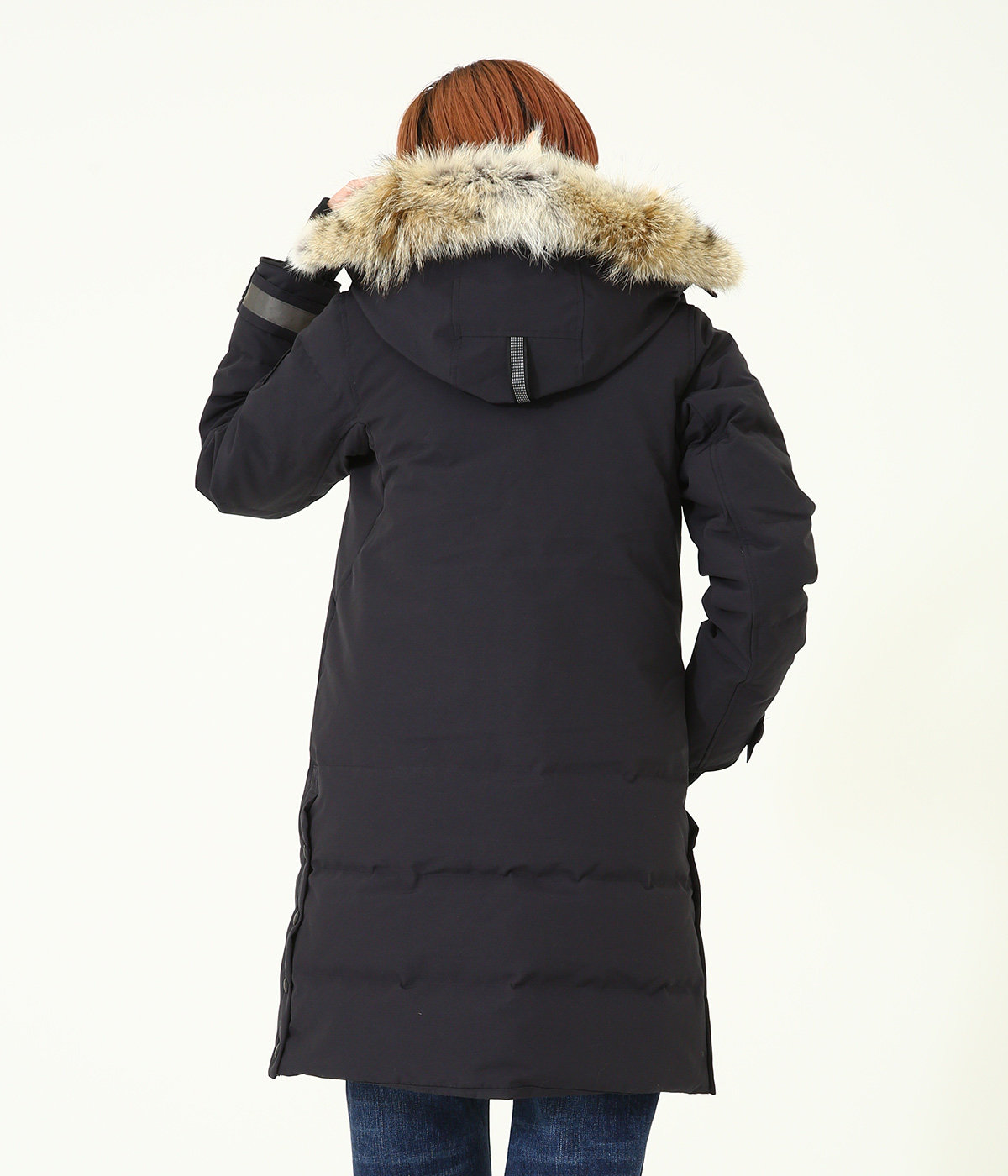 【レディース】<KENTON PARKA(ケントン パーカー)>-BLACK LABEL/BLACK DISC-