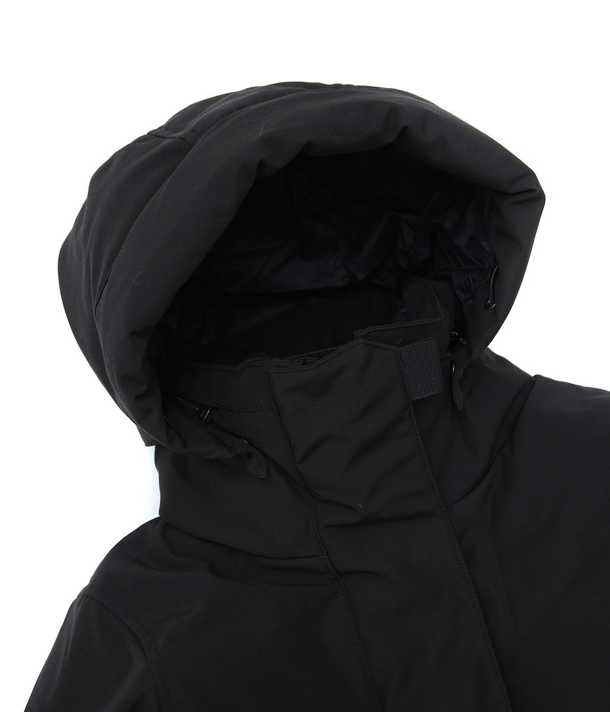 【レディース】<LYNDALE PARKA(リンデール パーカー)>-BLACK LABEL/BLACK DISC-