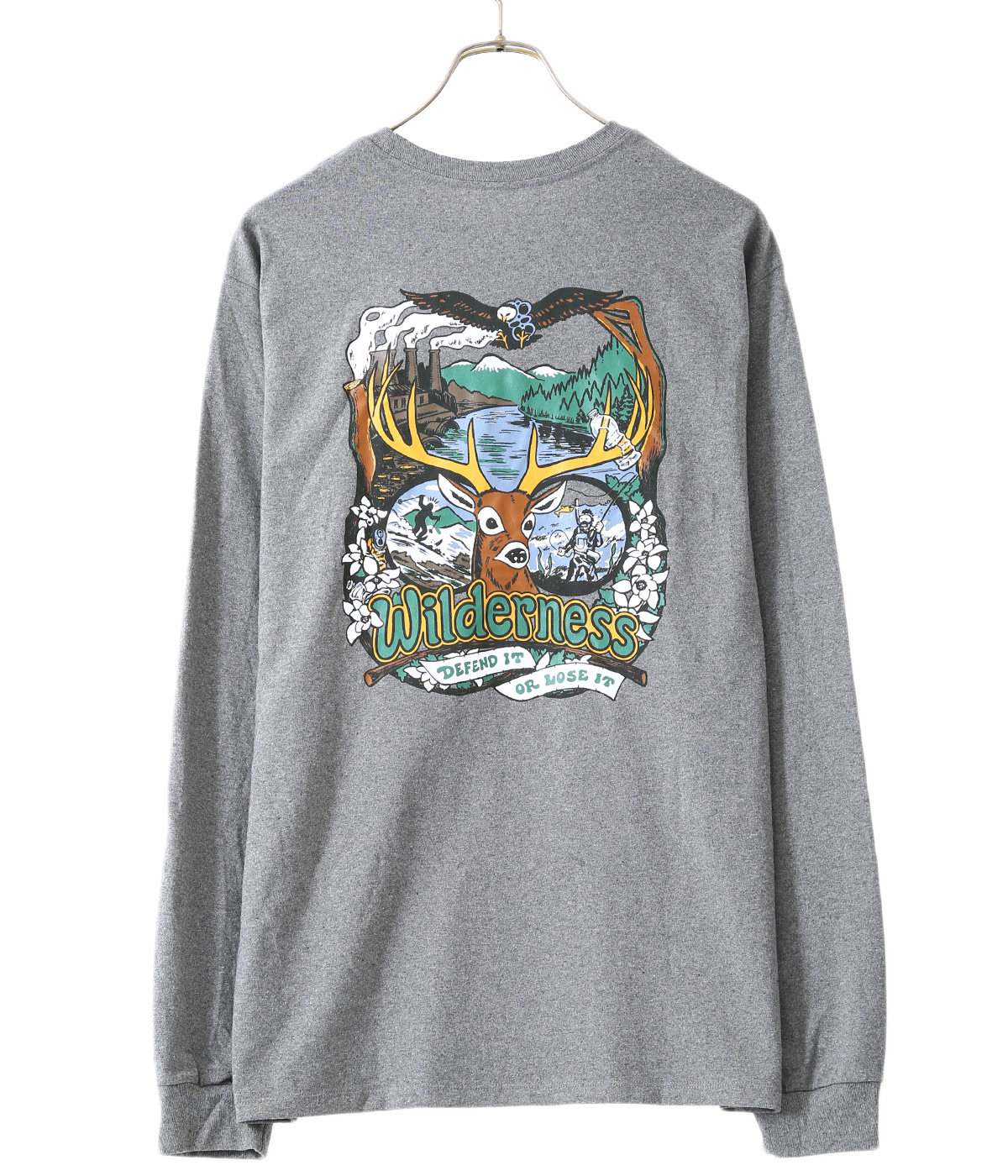 M's L/S Yes To Wilderness ResponsibiliTee -GLH-