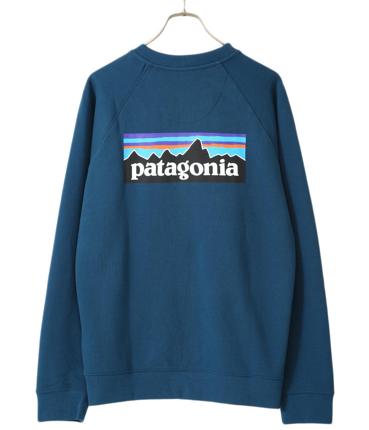 M's P-6 Logo Organic Crew Sweatshirt -BSNG-