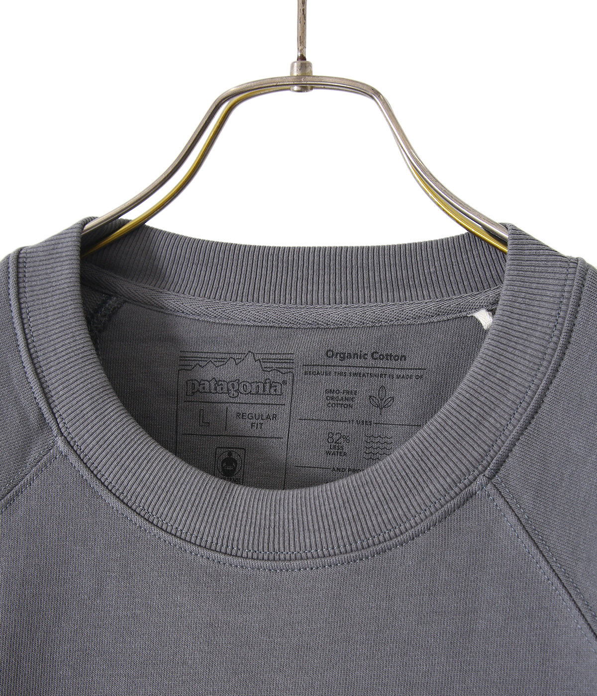 M's P-6 Logo Organic Crew Sweatshirt -OKSB-
