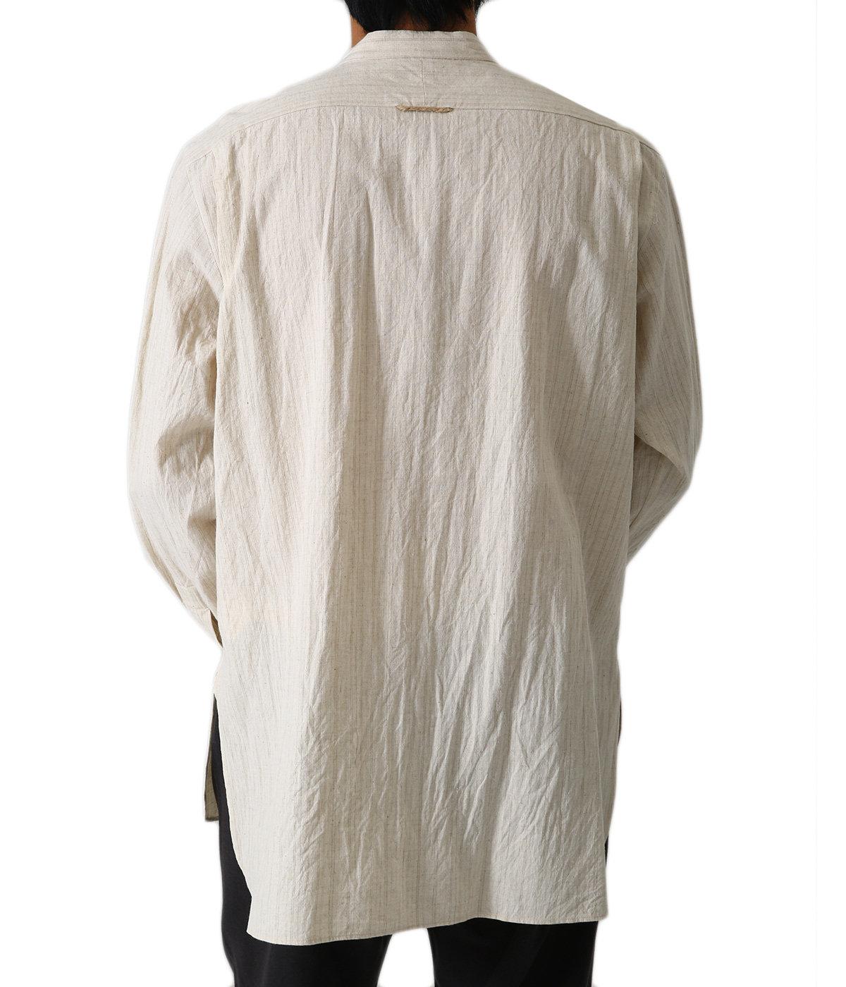 バンドカラーシャツ - 40157 -