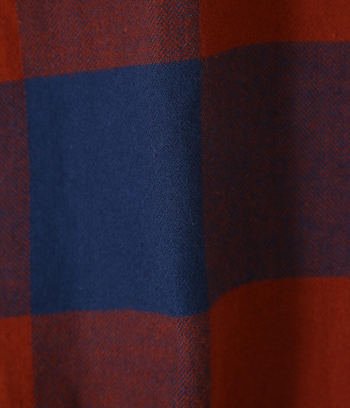 M's L/S Organic Cotton MW Fjord Flannel Shirt -MOSM-