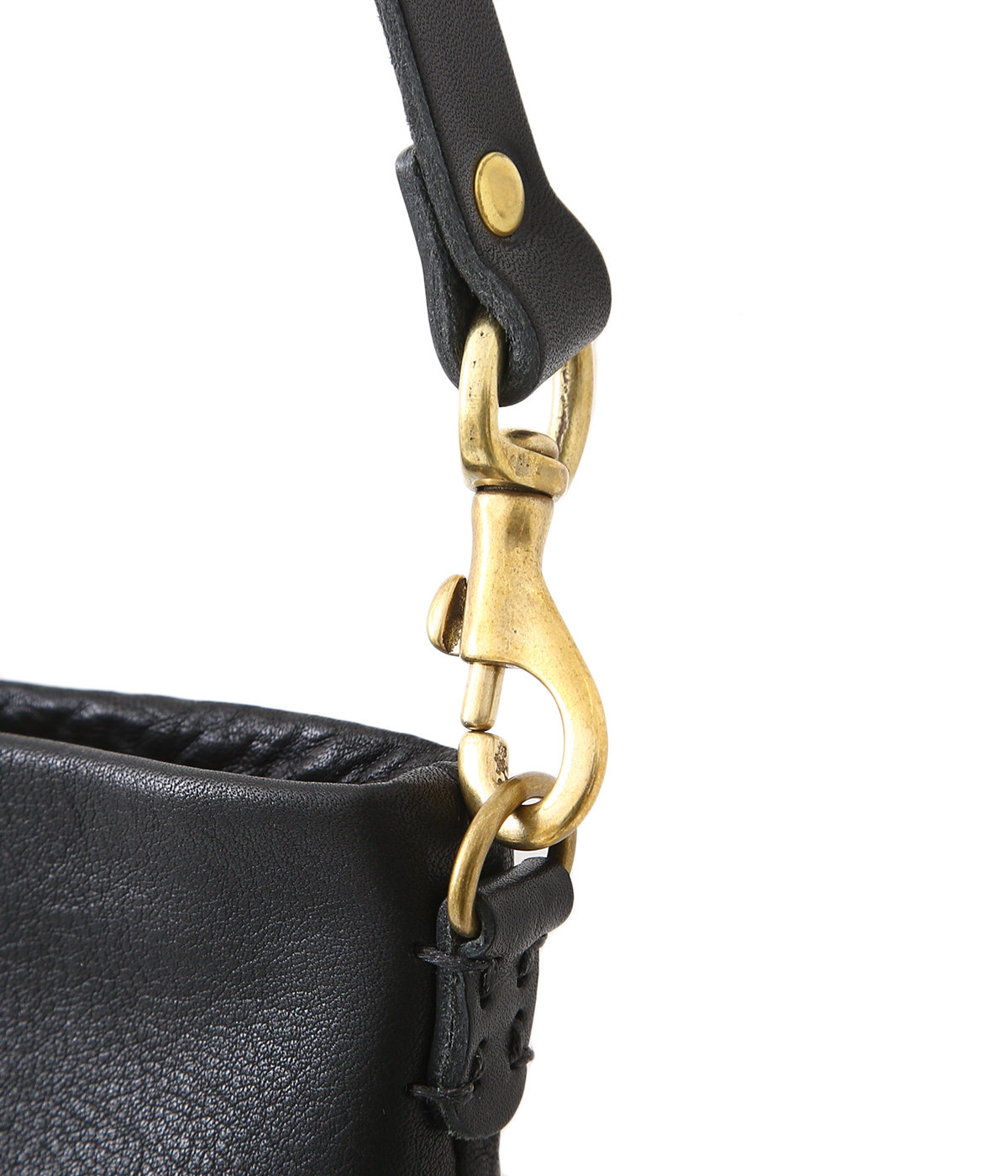 bono pouch shoulder bag -Black-