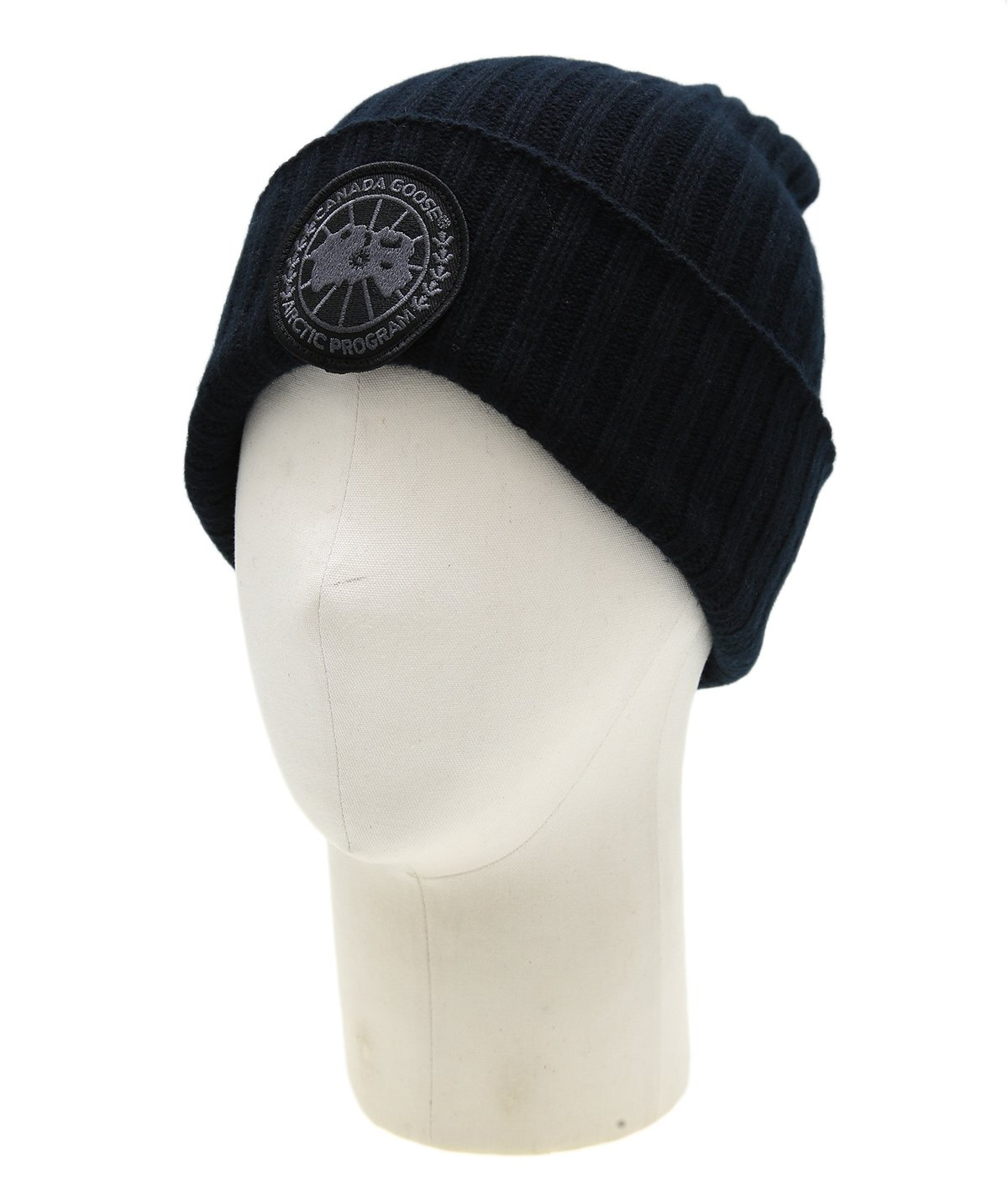 BLACK DISK RIB TOQUE