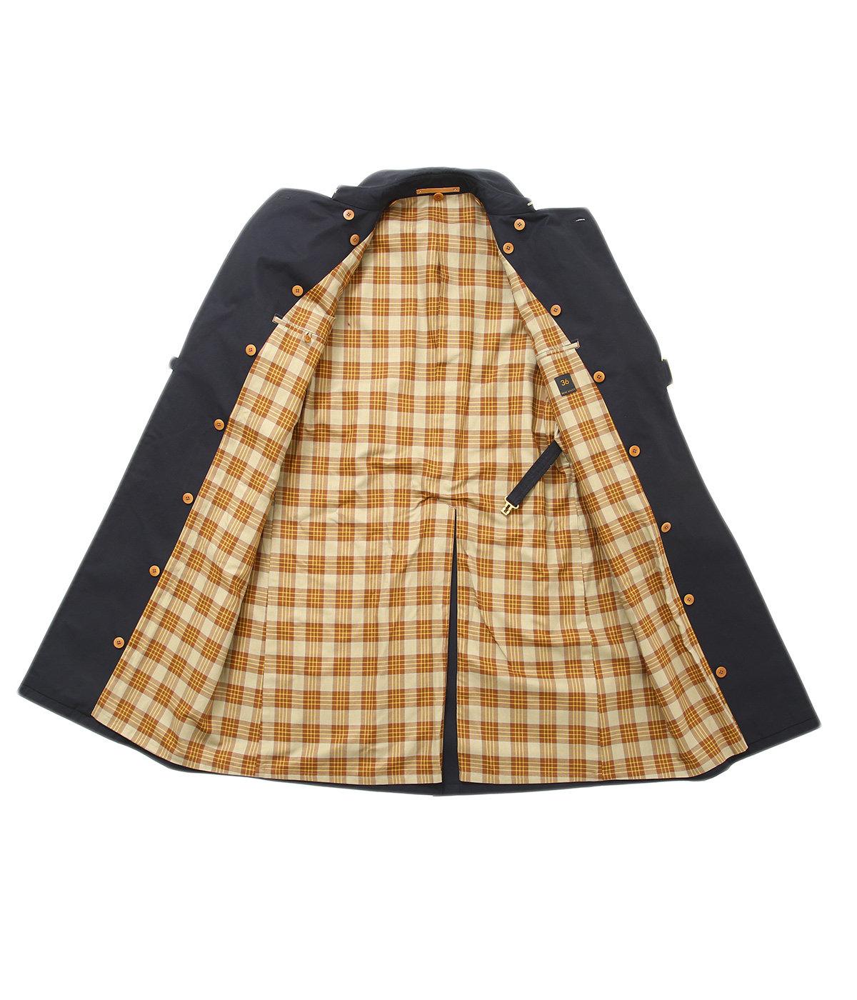 GIZA Cotton Gabardine Tielocken Coat