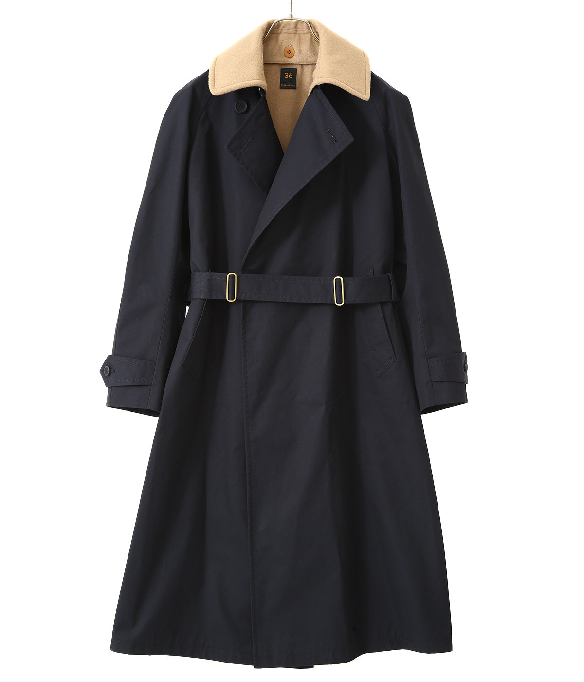 GIZA Cotton Gabardine Tielocken Coat
