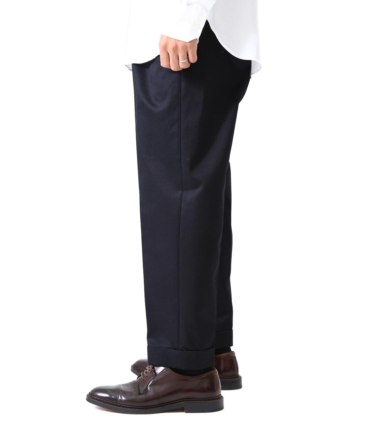 San Joaquin Cotton Chino Pleated Trousers