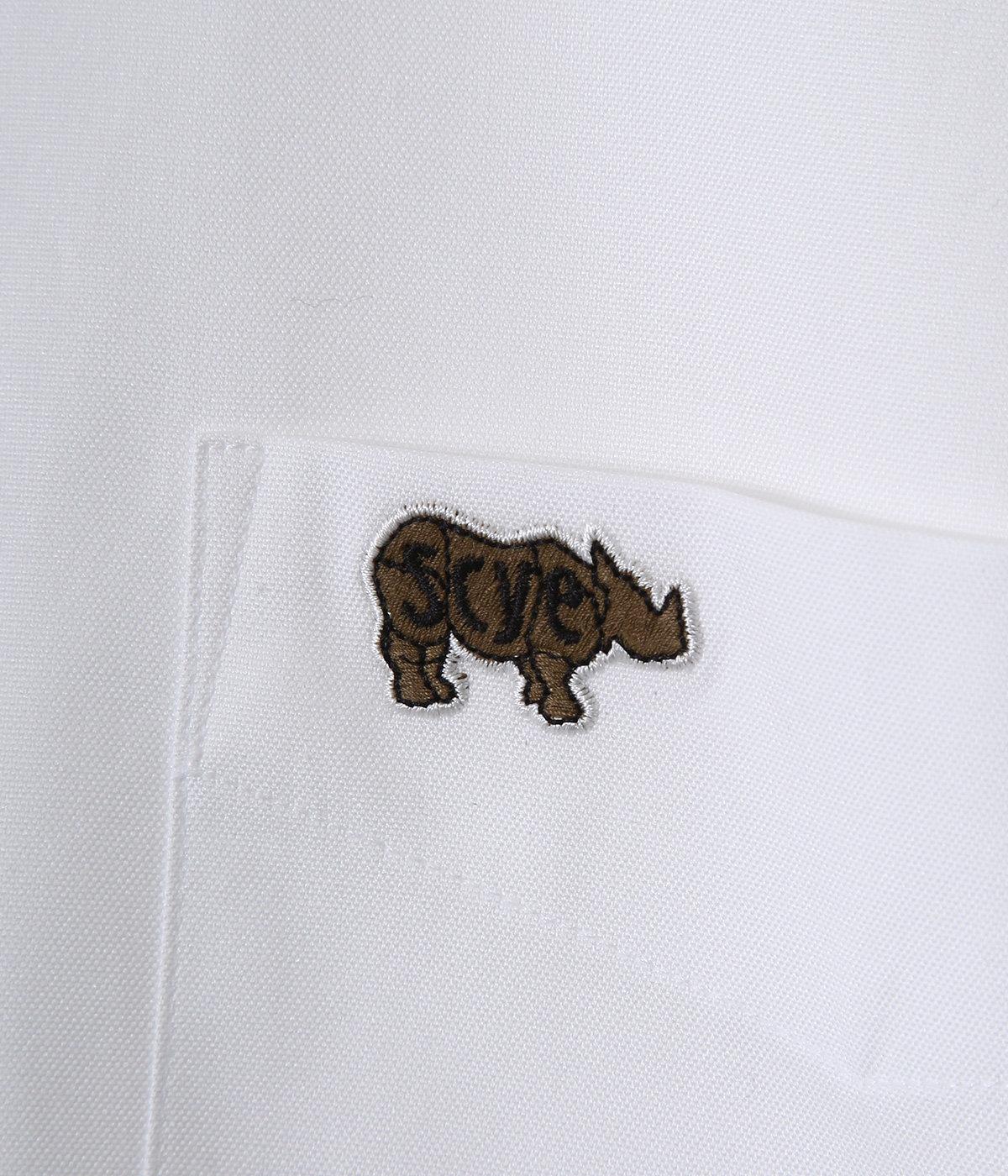 FINX Cotton Oxford B・D Shirt