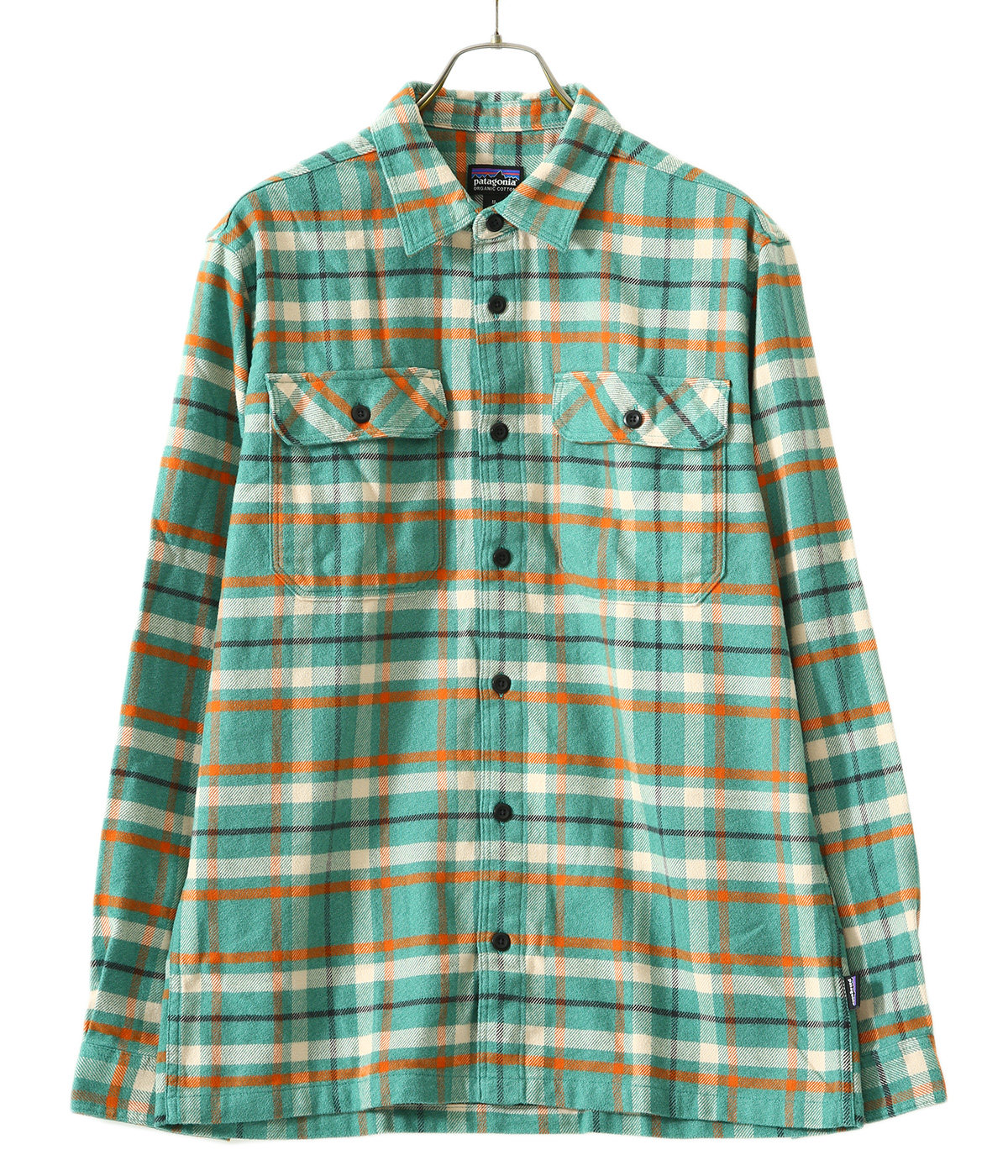M's L/S Fjord Flannel Shirt -PBRD-