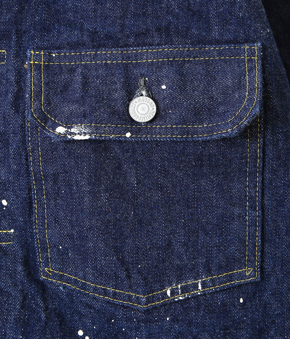 【ONLY ARK】別注 50's DENIM JACKET ONE WASH+PAINT