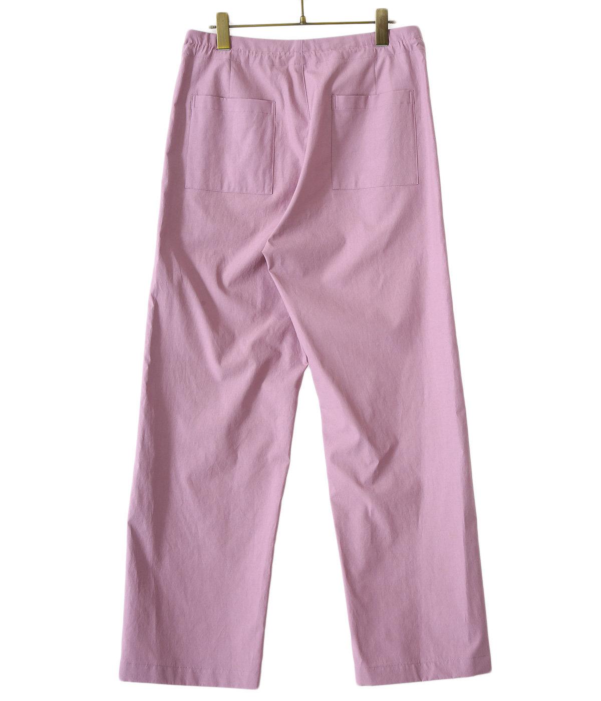 【レディース】WASHED FINX TWILL EASY WIDE PANTS