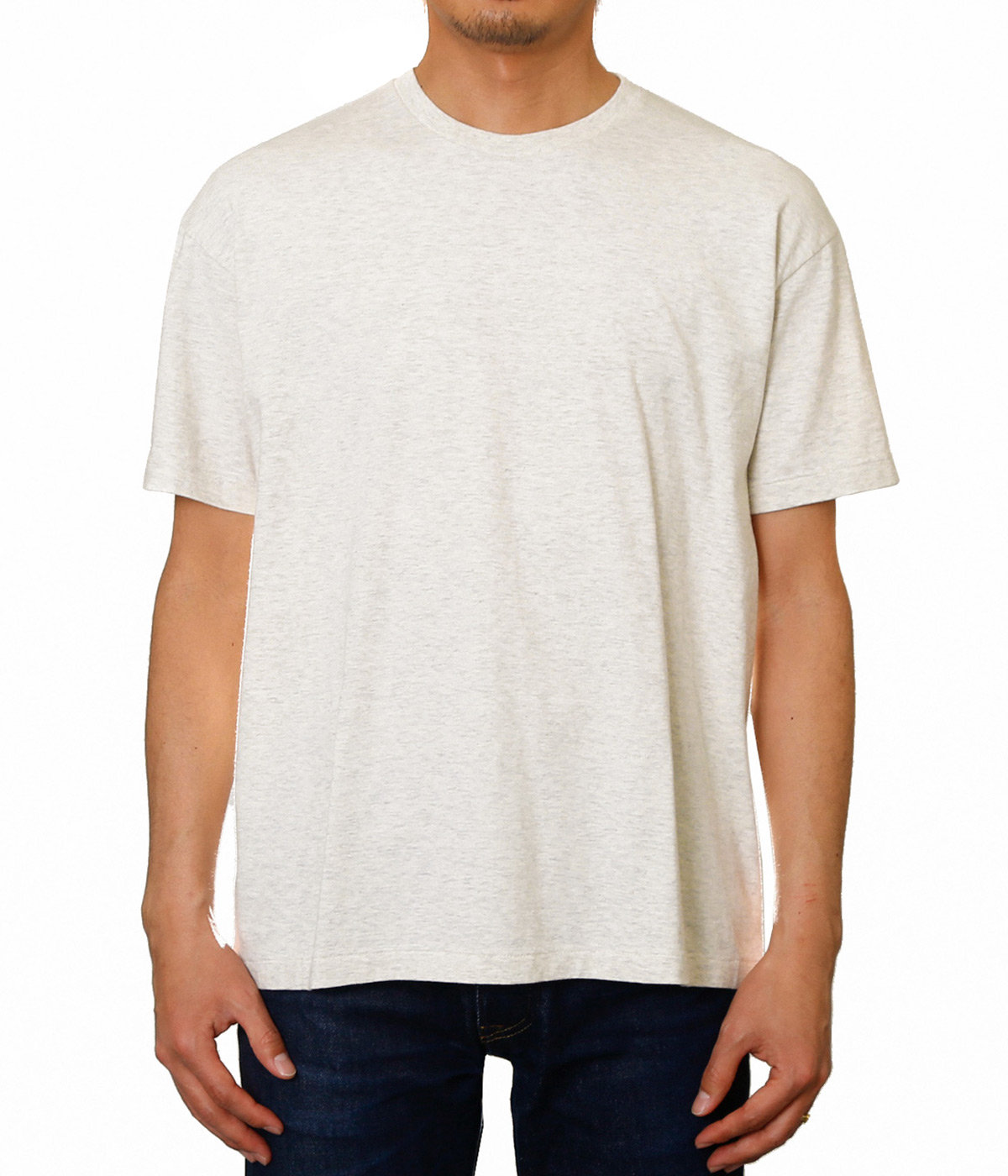 SEAMLESS CREW NECK TEE
