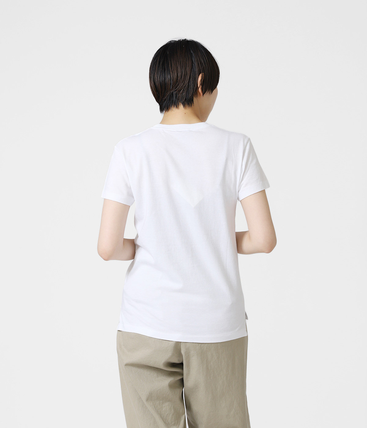 【レディース】SEAMLESS CREW NECK TEE