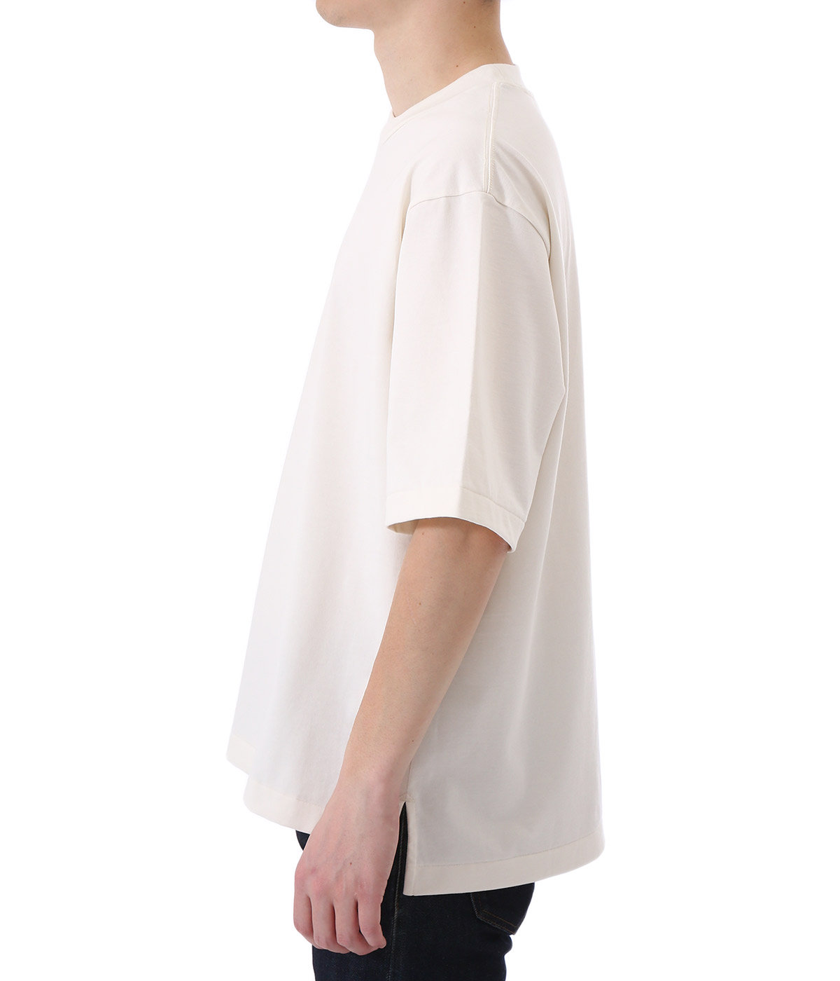 Organic Cotton Jersey Big T-Shirt