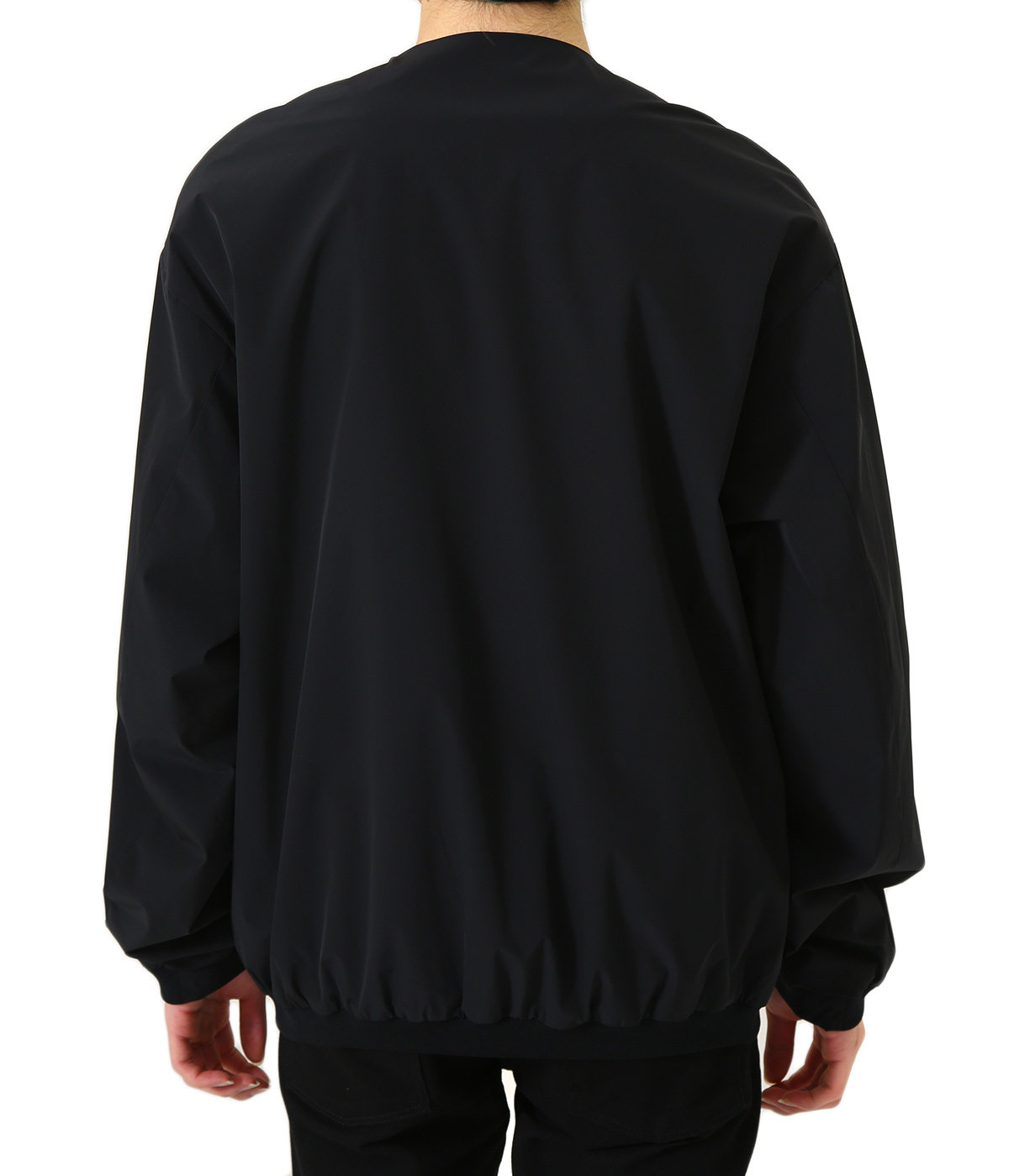Ultra 2Way Nylon Stretch Snap Cardigan