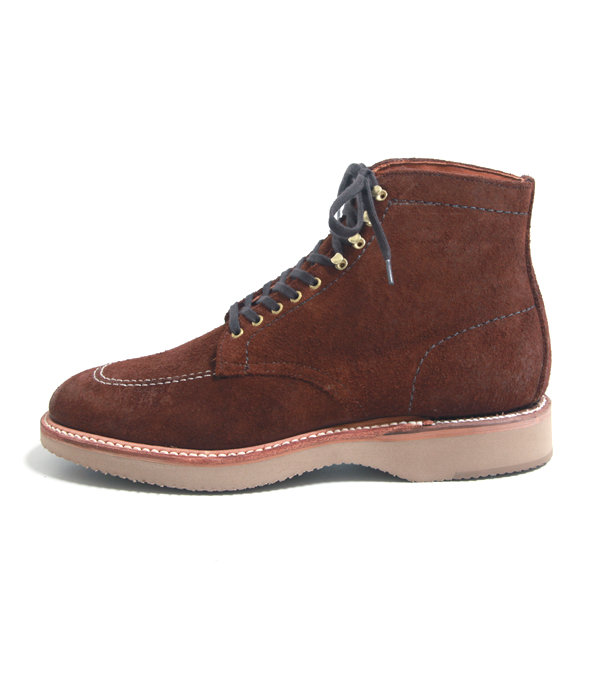 【ONLY ARK】別注 LACE UP BOOT (カーフスエード・ミリタリーラスト・スーパーライトクッションソール)