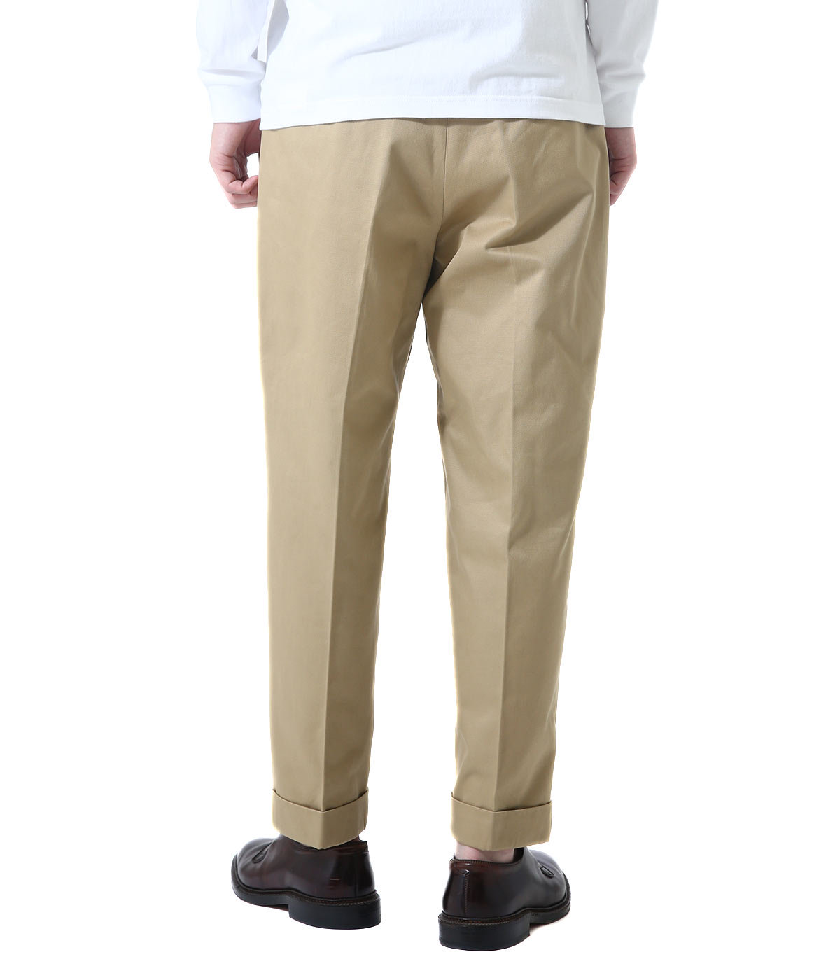 San Joaquin Cotton Chino Pleated Beltless