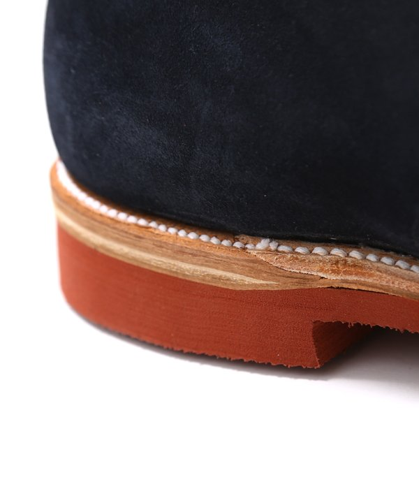 【ONLY ARK】別注 SUEDE CAP TOE SHOES(キッドスエード・モディファイドラスト・マイクロセルラーソール)