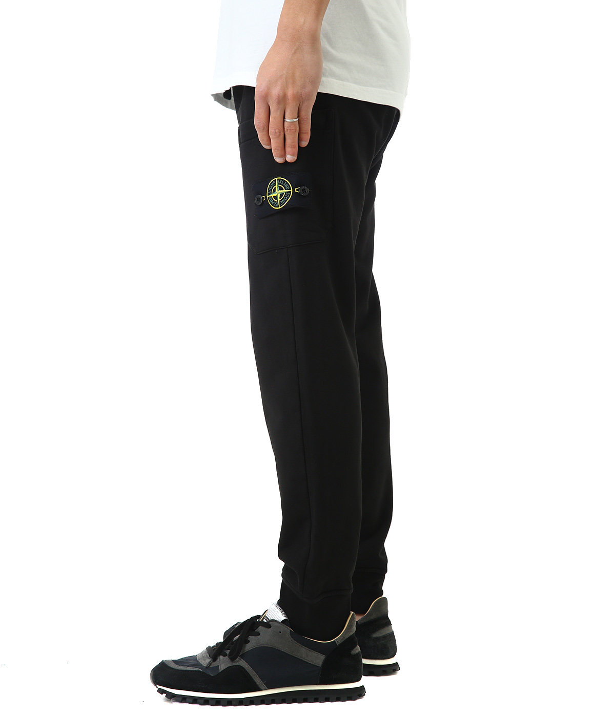 COTTON FLEECE PANTS