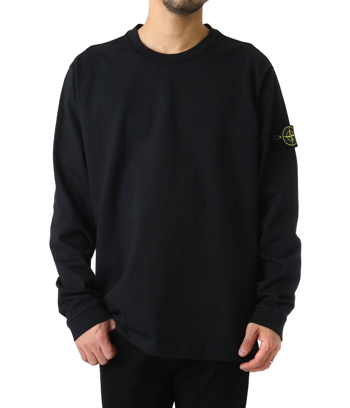 HEAVY COTTON JERSEY LONG SLEEVE T-SHIRTS